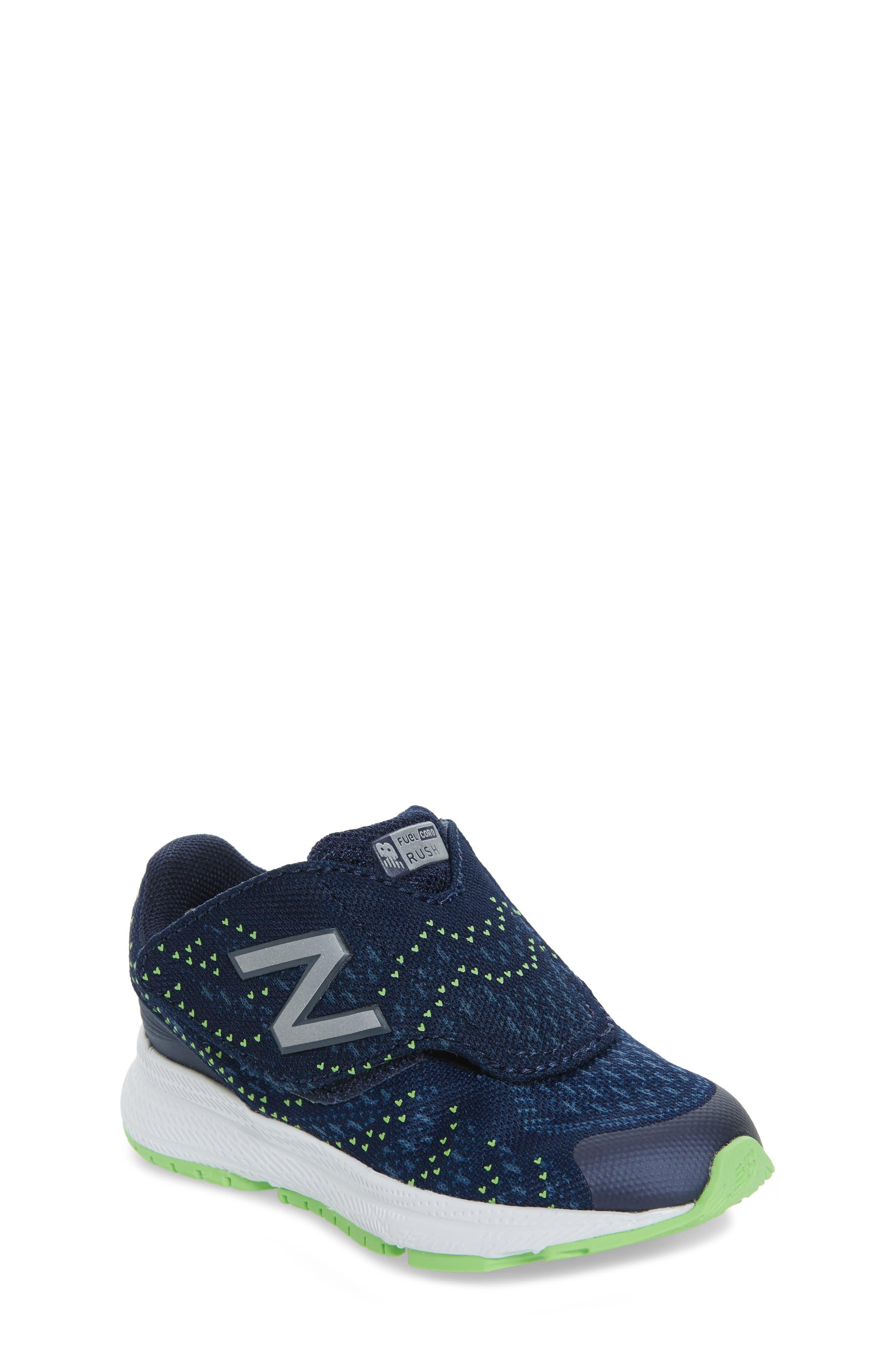 FuelCore Rush v3 Sneaker,                         Main,                         color, Navy
