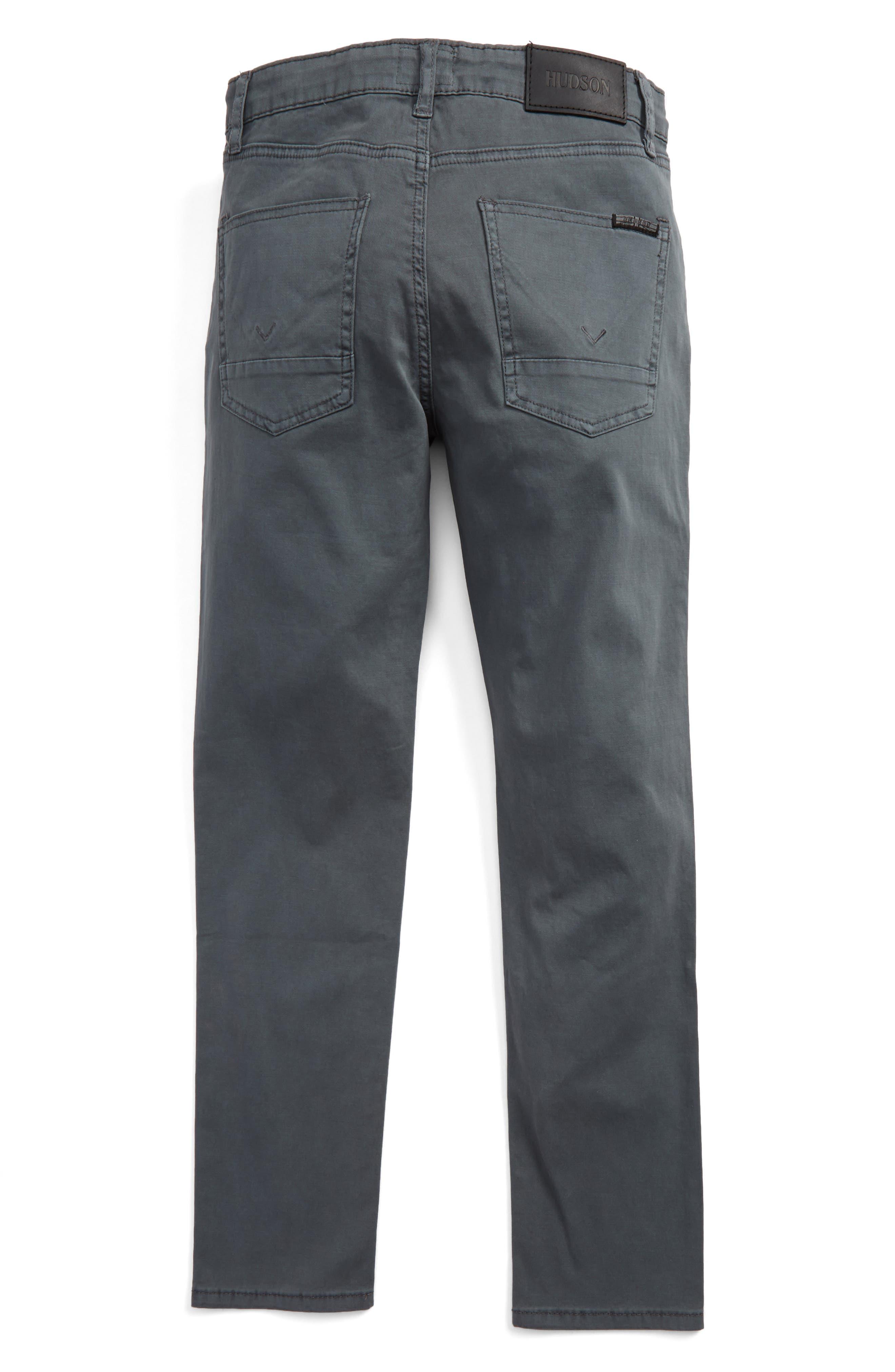 Alternate Image 2  - Hudson Jeans Jagger Slim Fit Straight Leg Pants (Big Boys)