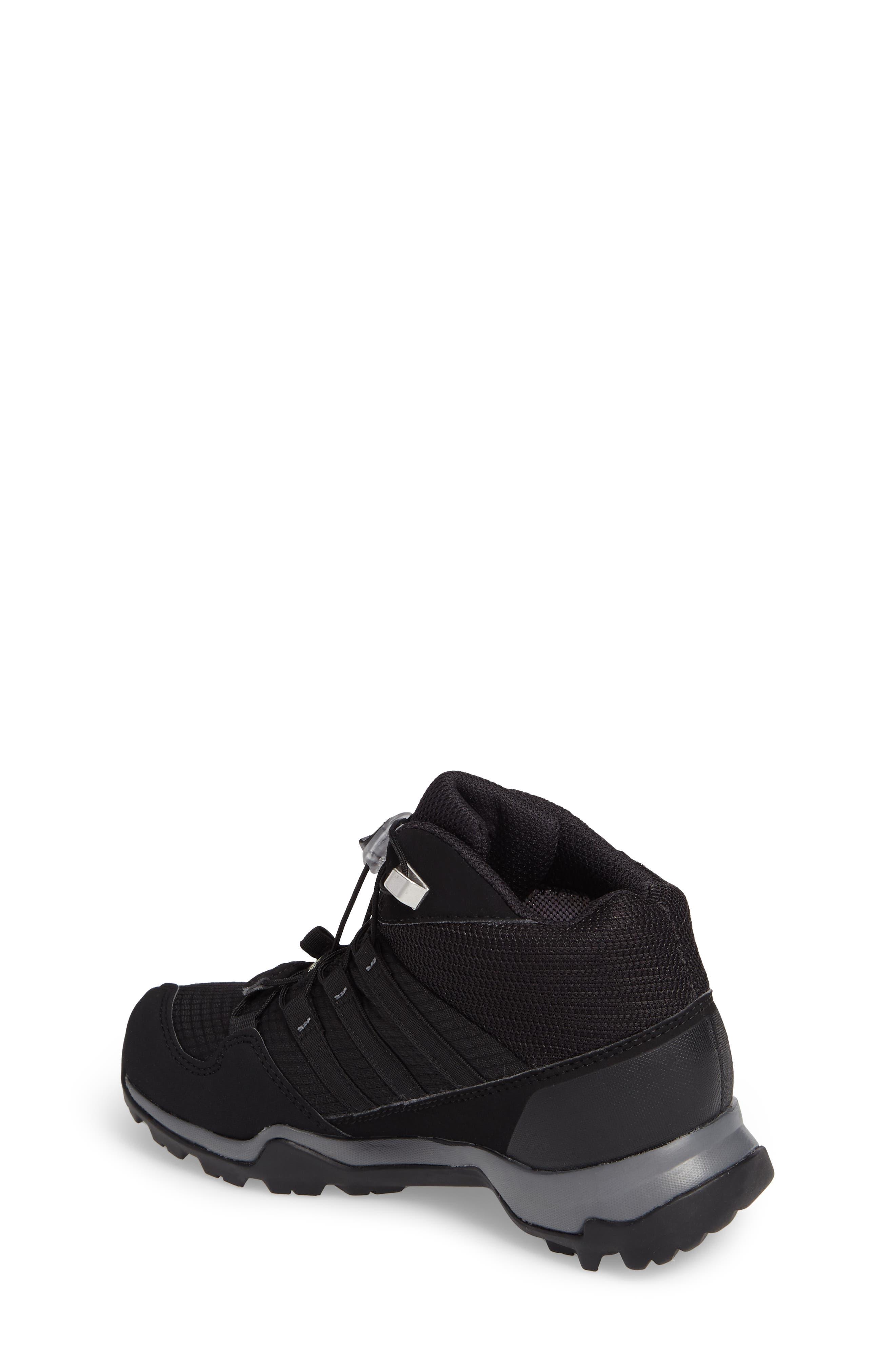 Terrex Mid Gore-Tex<sup>®</sup> Insulated Waterproof Sneaker Boot,                             Alternate thumbnail 2, color,                             Black/ Black/ Vista Grey