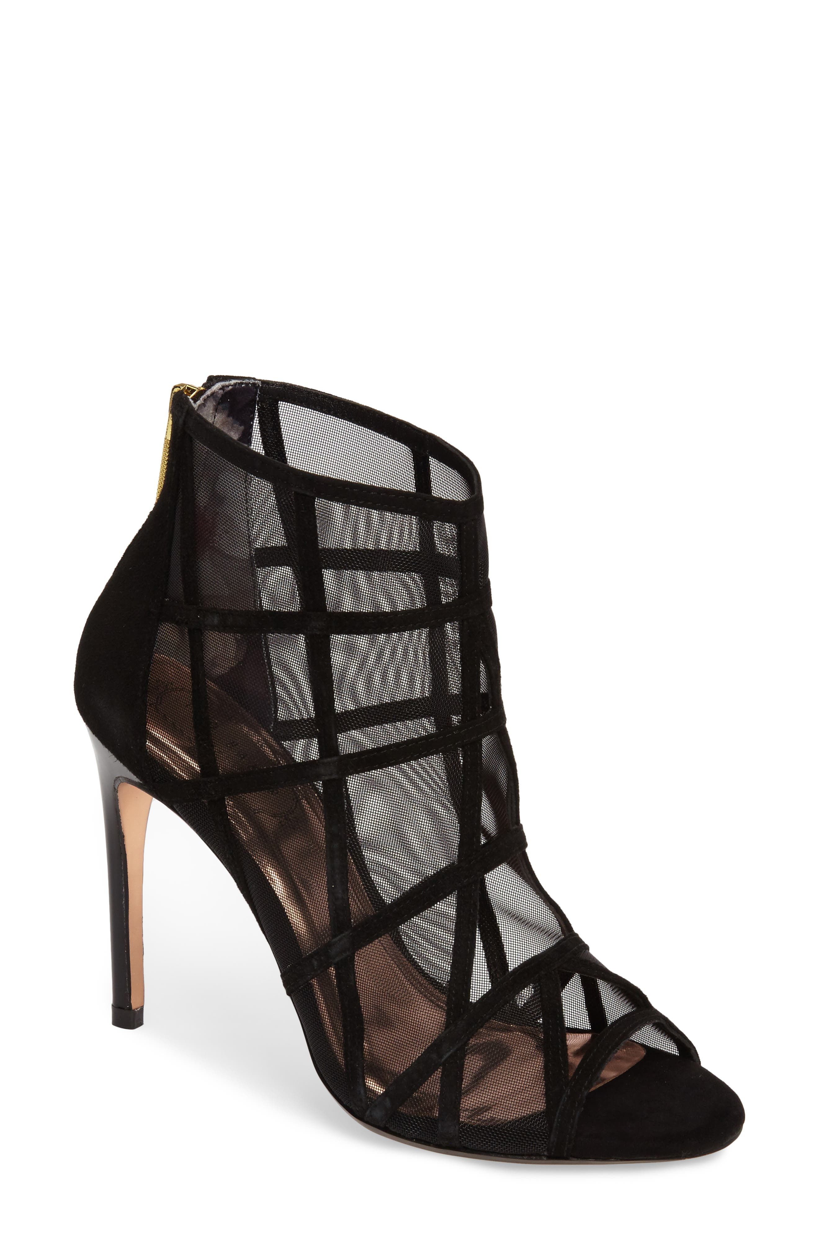 Ted Baker London Xstal Mesh Bootie (Women)