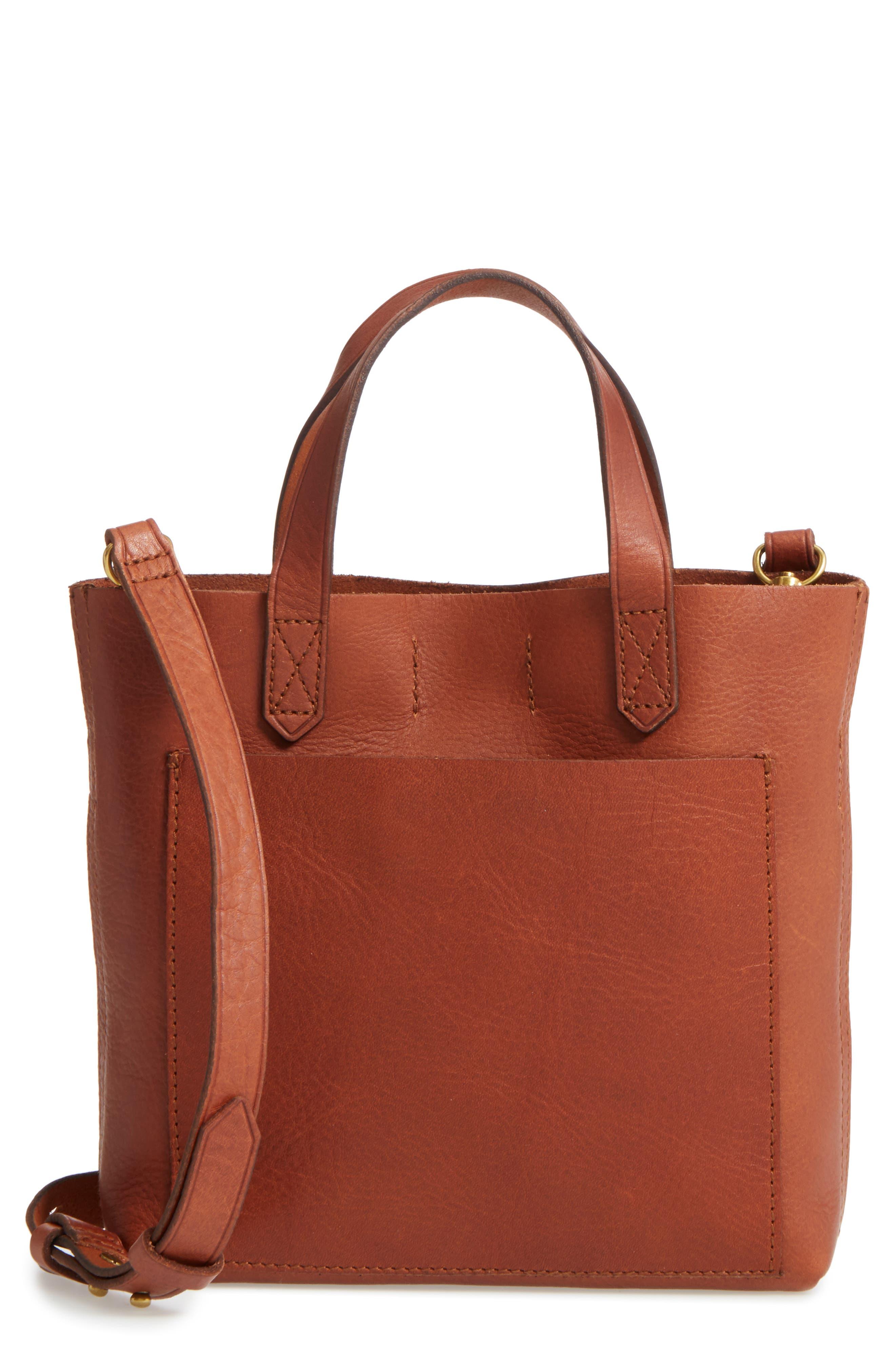 Madewell Small Transport Leather Crossbody Bag