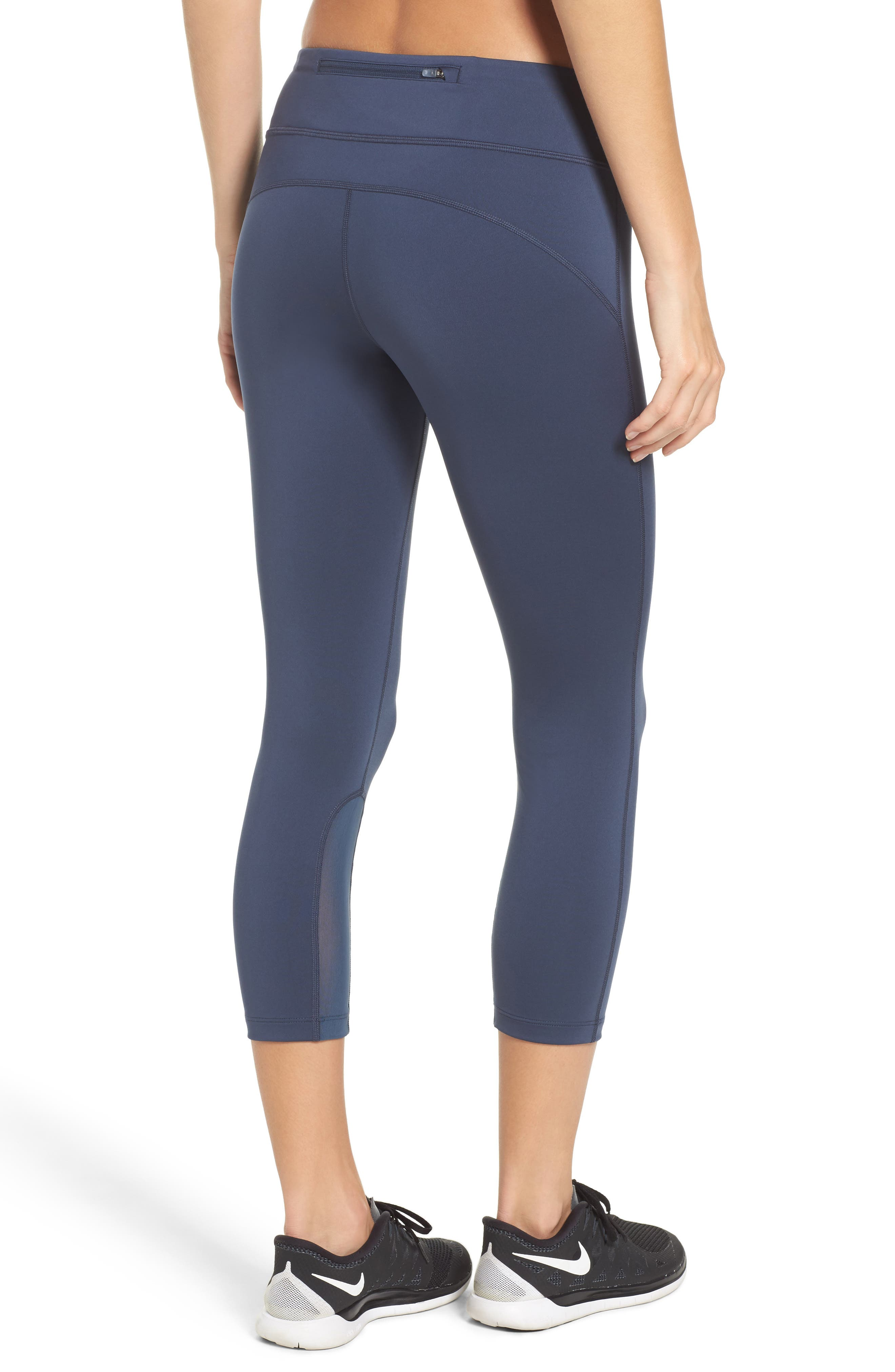 Alternate Image 2  - Nike Power Epic Run Crop Tights