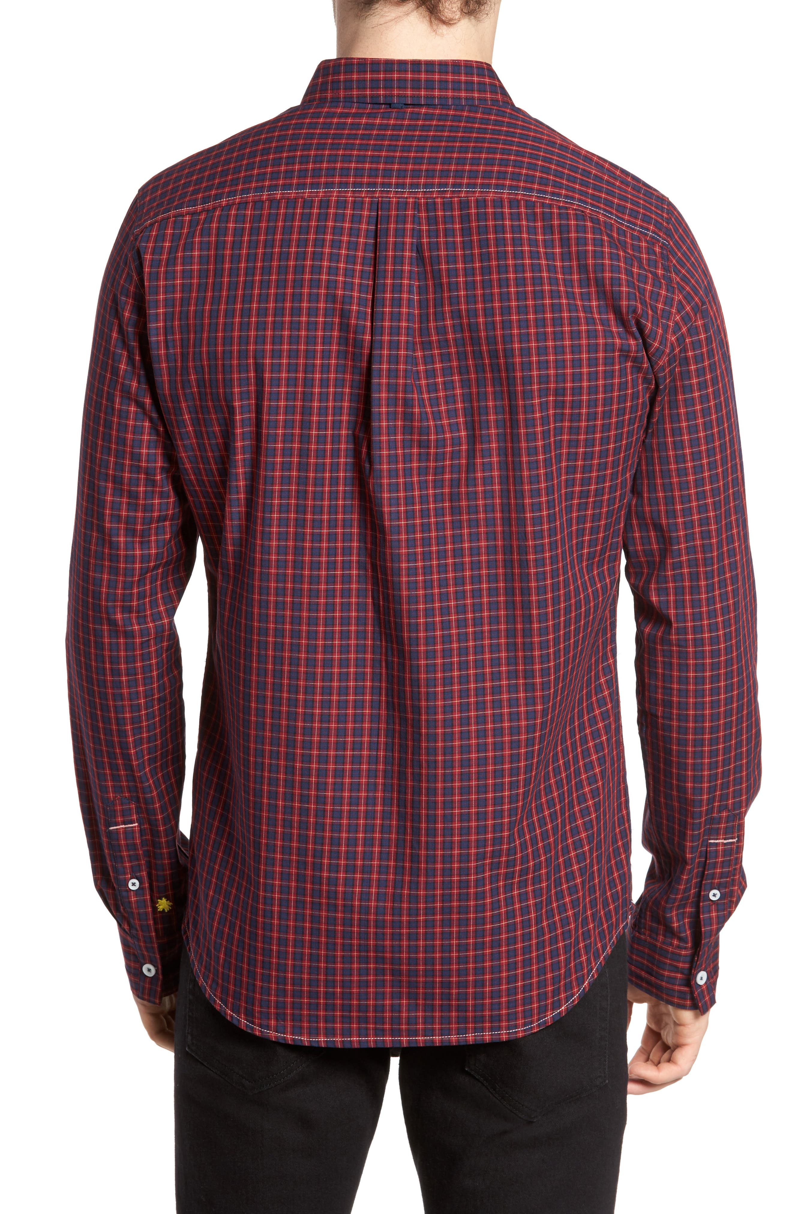 Alternate Image 2  - Descendant of Thieves Tinto Plaid Woven Shirt