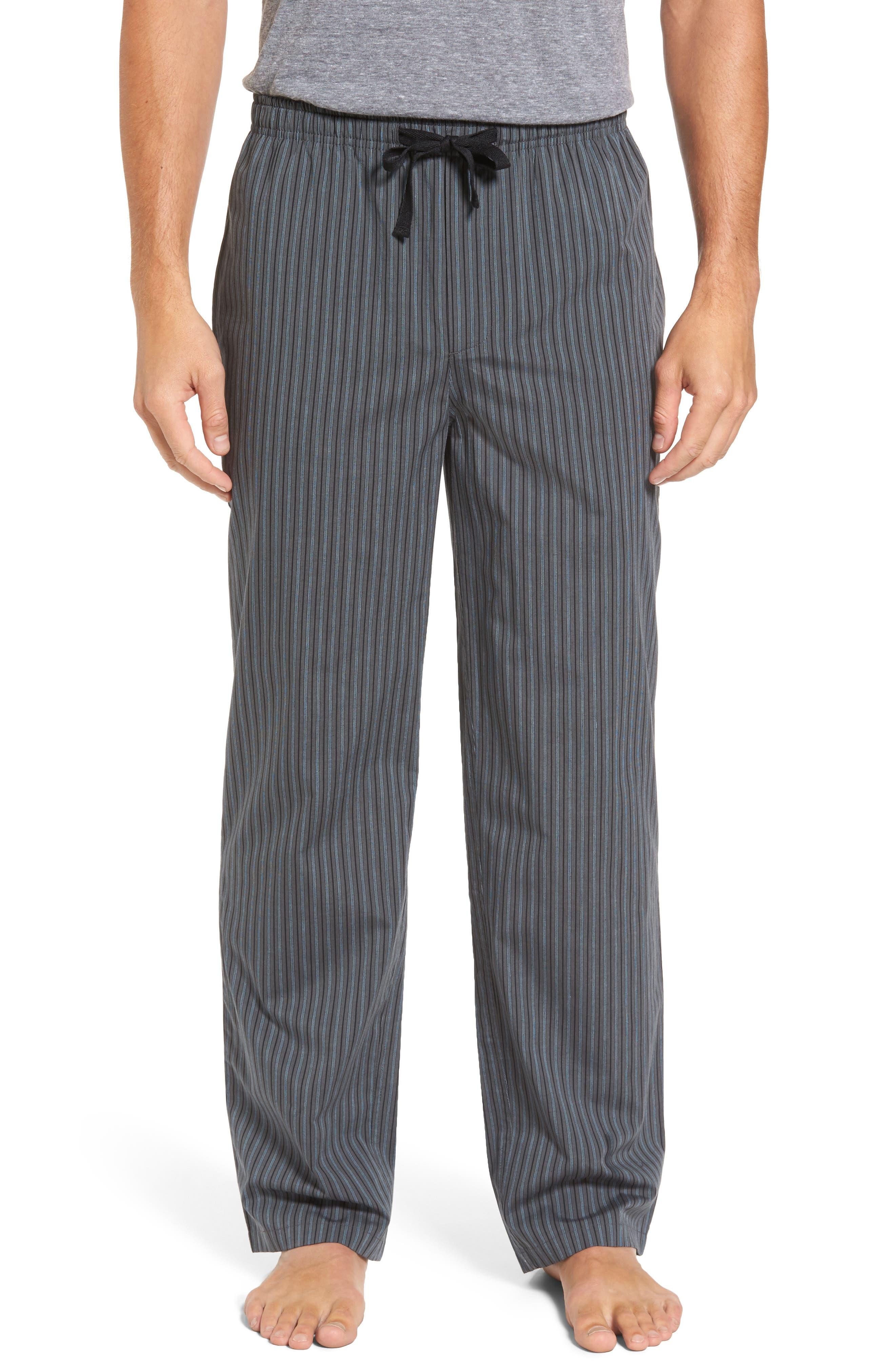 Alternate Image 1 Selected - Nordstrom Men's Shop Poplin Lounge Pants