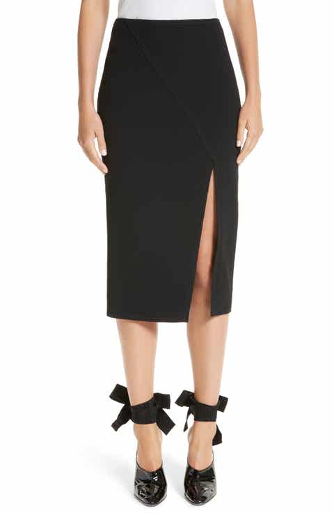 Jason Wu Compact Crepe Pencil Skirt
