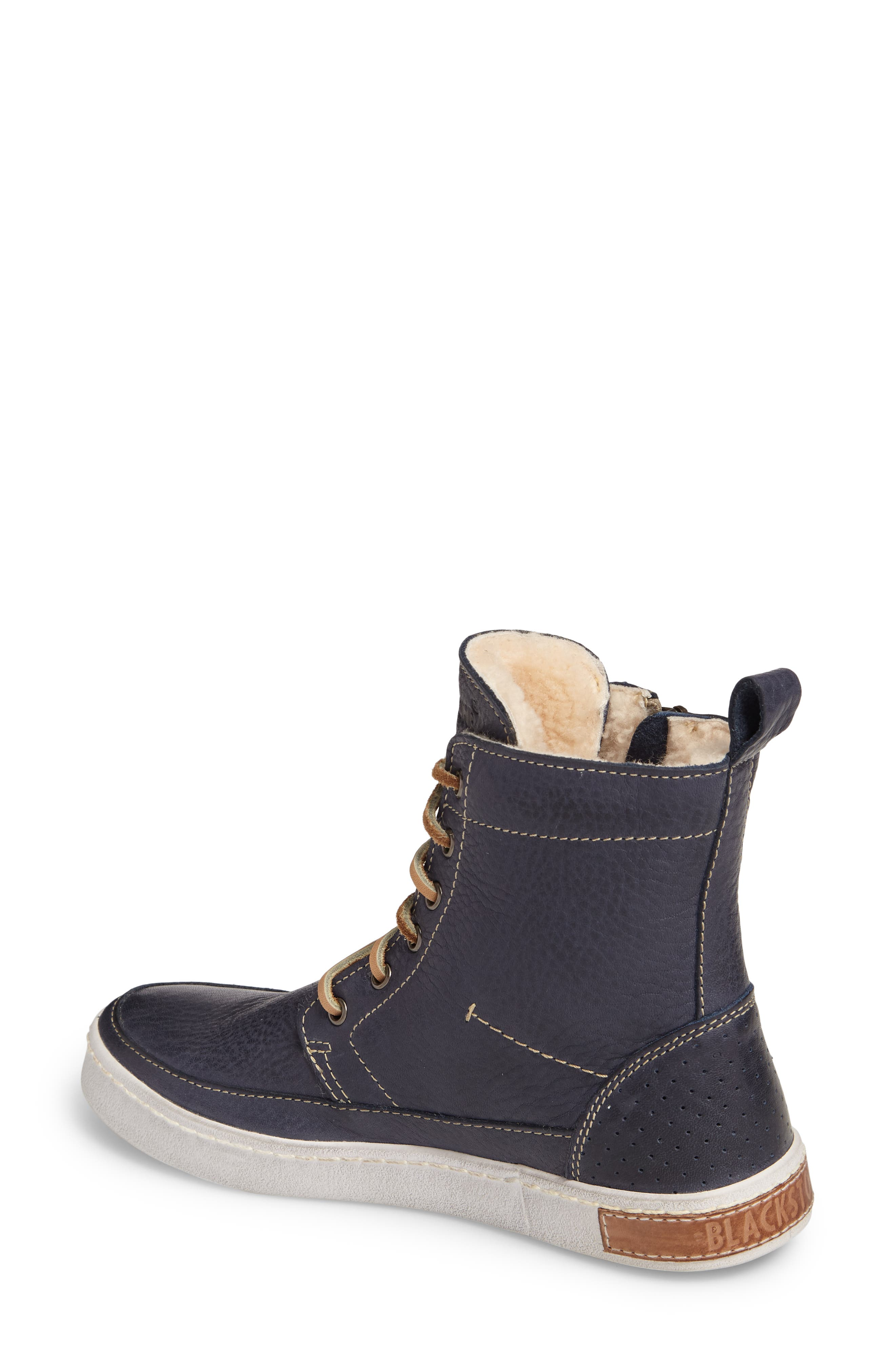 Alternate Image 2  - Blackstone 'CW96' Genuine Shearling Lined Sneaker Boot (Women)