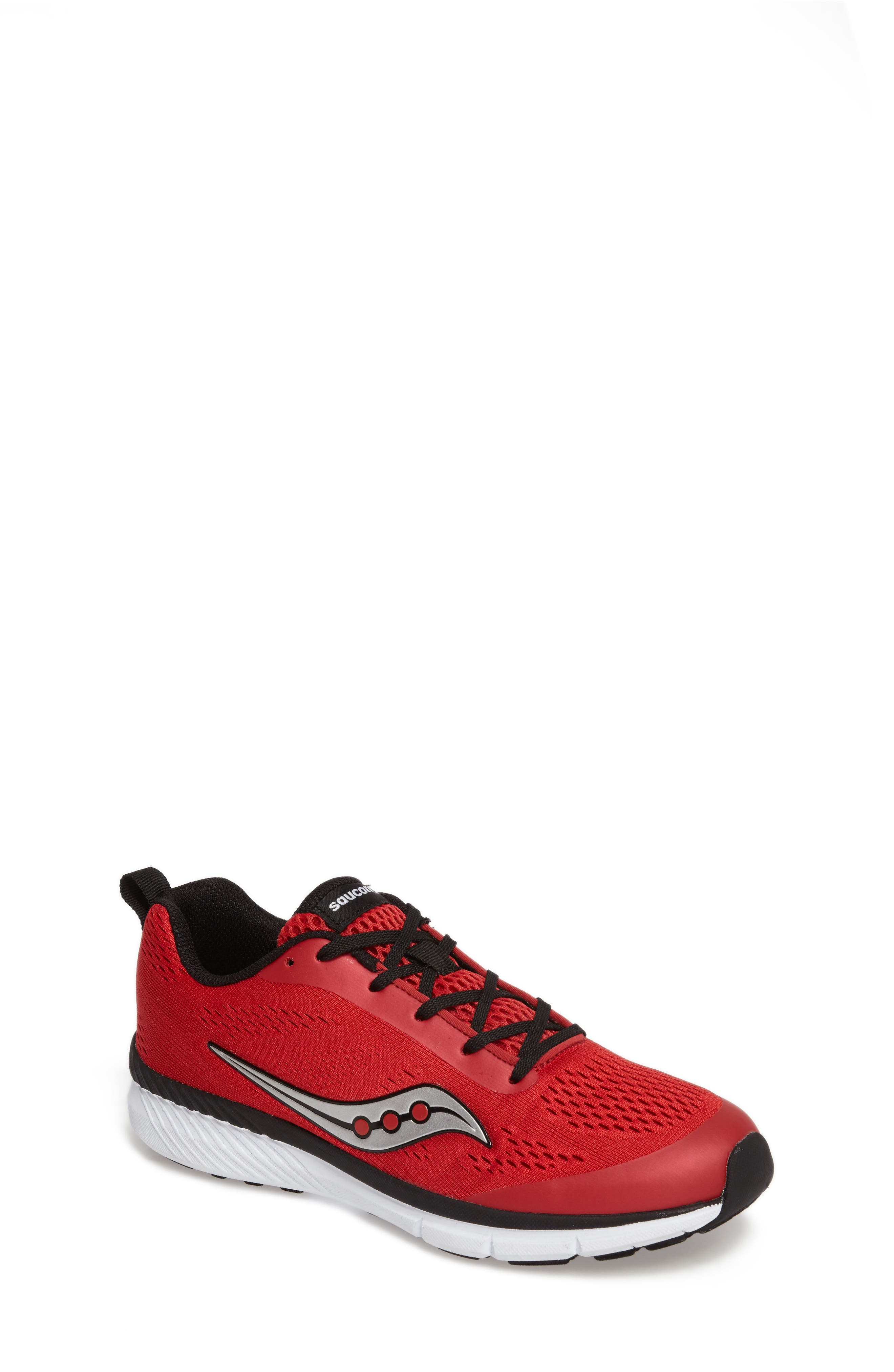 Ideal Sneaker,                             Main thumbnail 1, color,                             Red