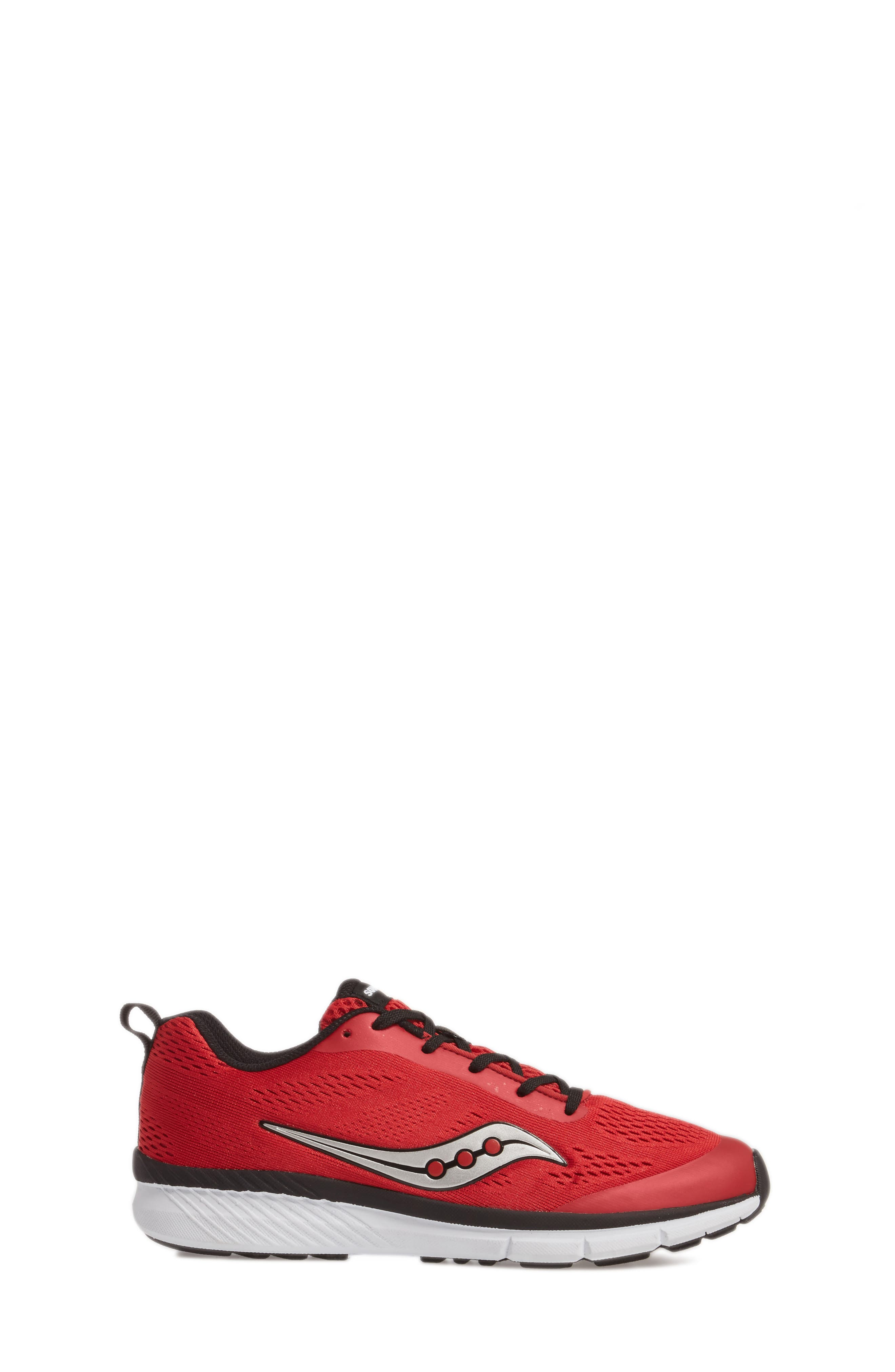 Ideal Sneaker,                             Alternate thumbnail 3, color,                             Red