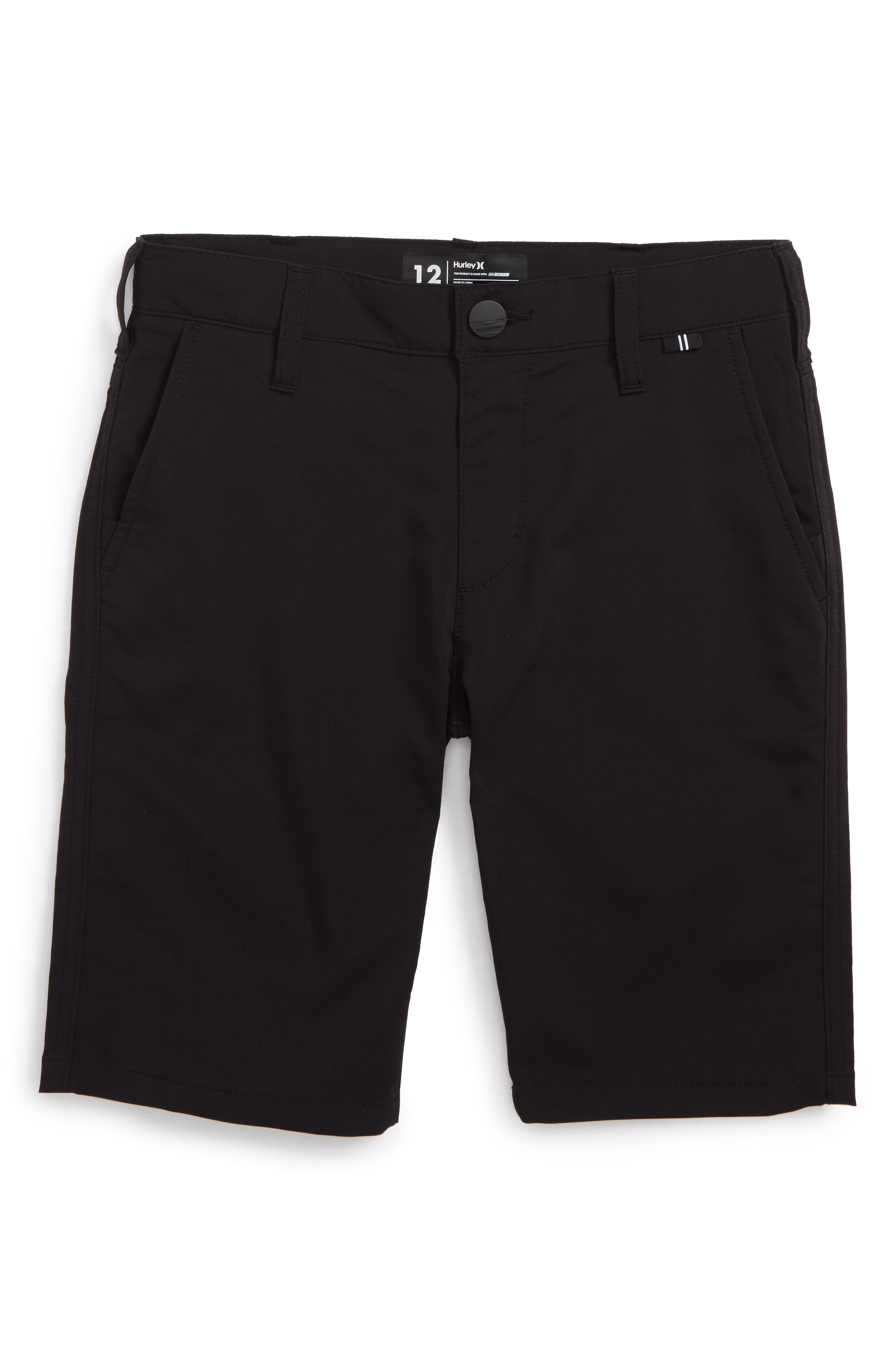 Main Image - Hurley Dri-FIT Chino Shorts (Big Boys)