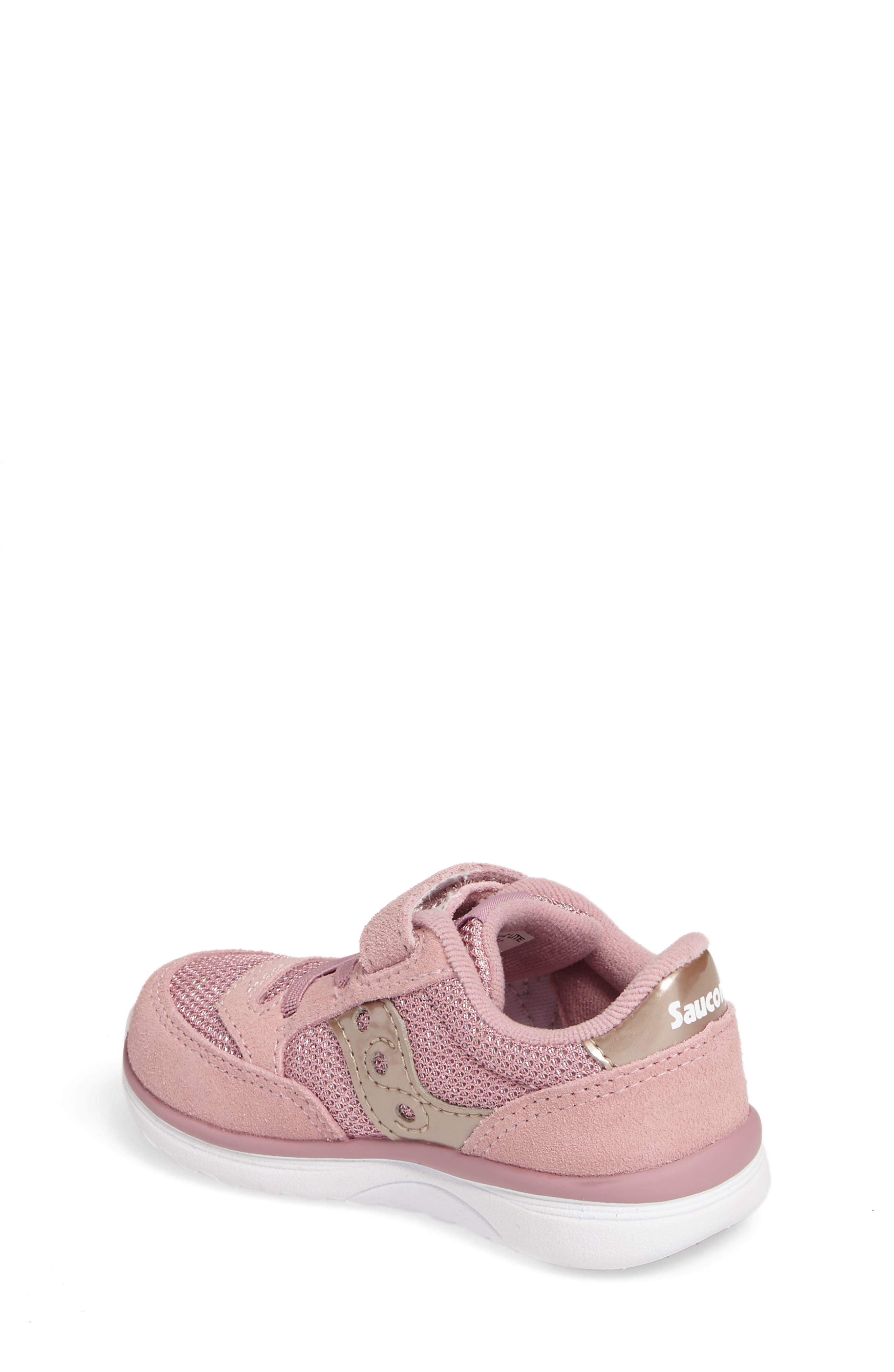 Jazz Lite Sneaker,                             Alternate thumbnail 2, color,                             Blush Metallic
