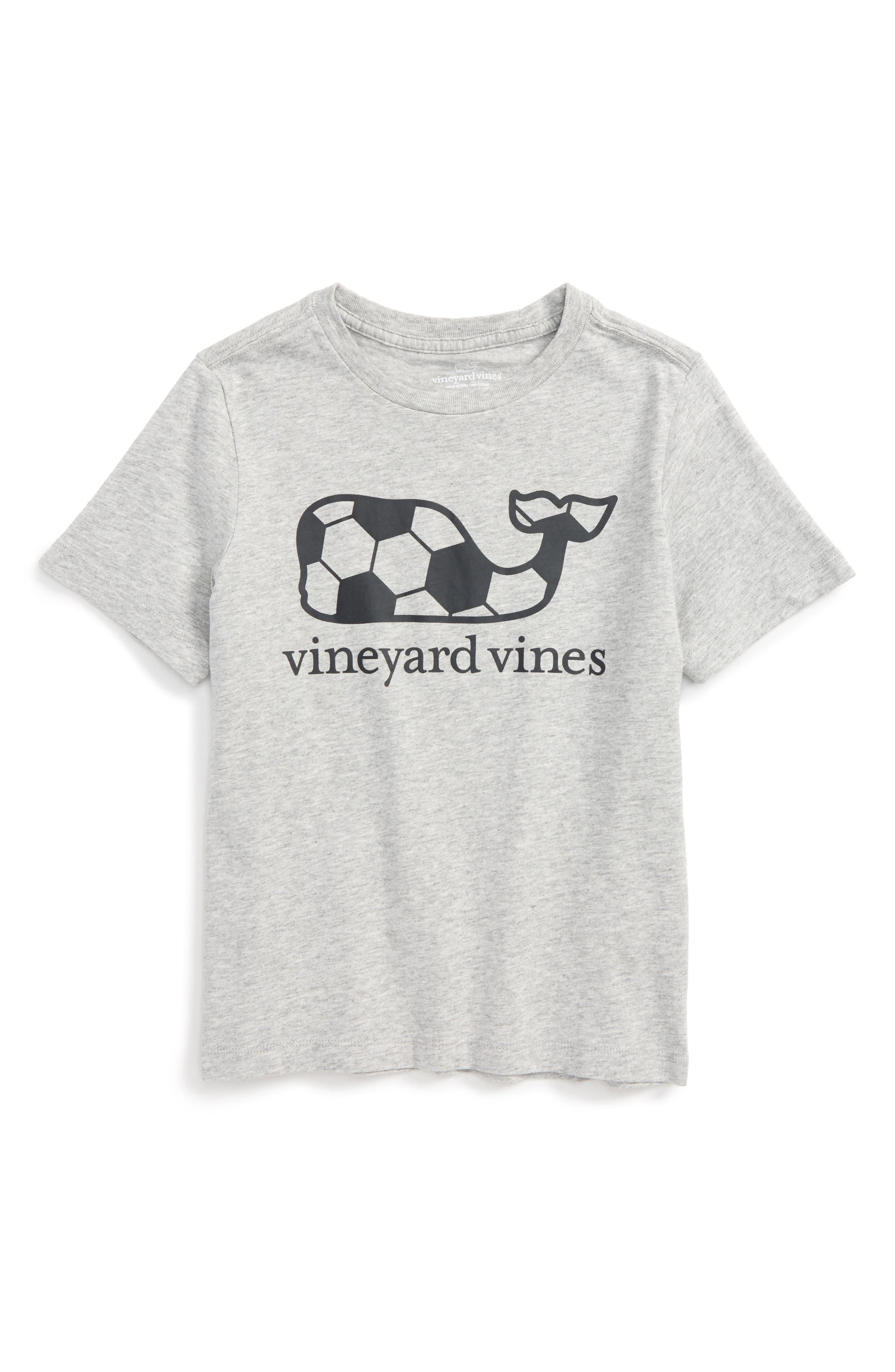 Vineyard Vines Soccer Ball Graphic T-Shirt (Toddler Boys & Little Boys)