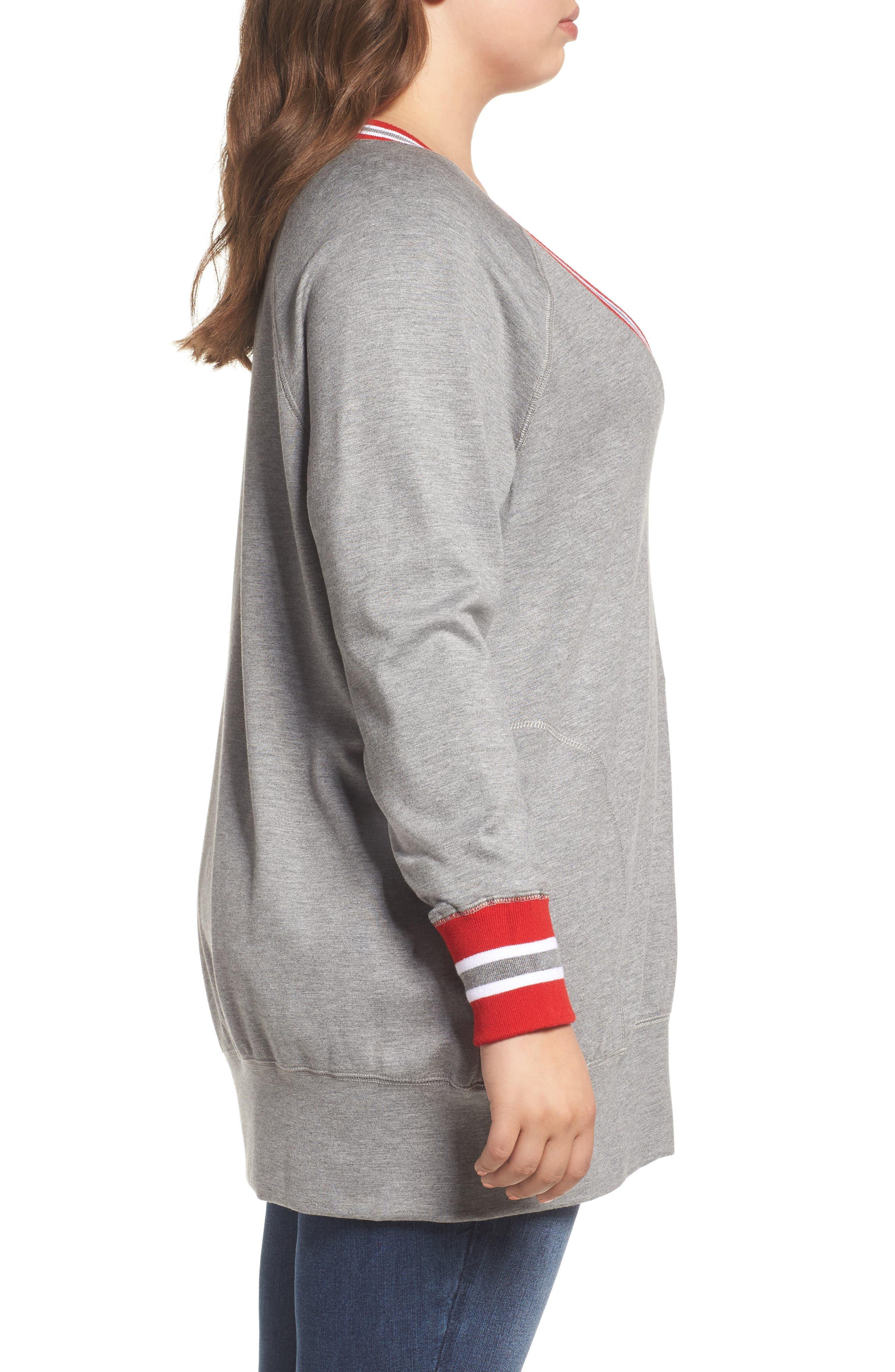 Alternate Image 3  - Melissa McCarthy Seven7 Sweatshirt (Plus Size)