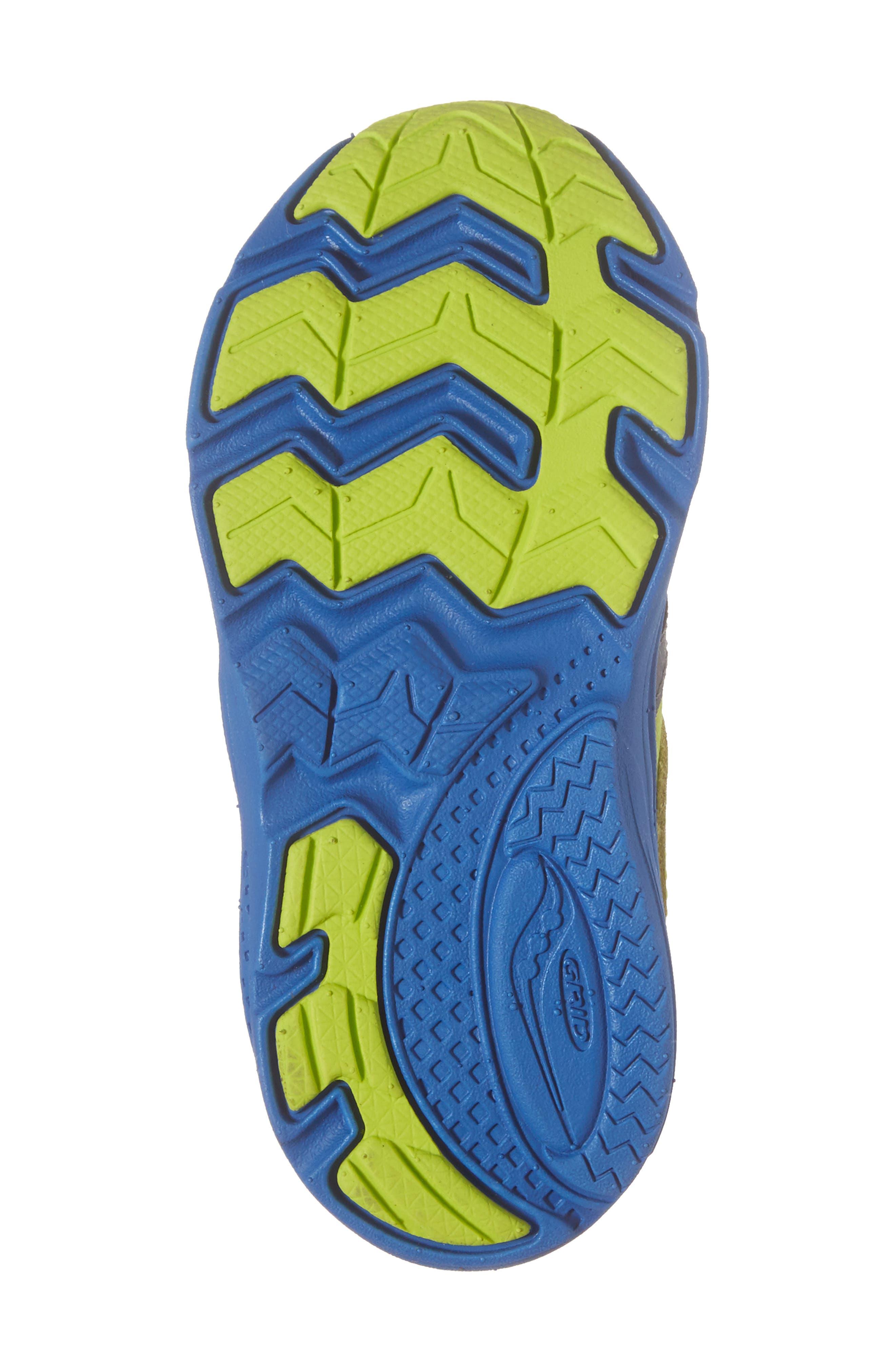'Ride' Sneaker,                             Alternate thumbnail 6, color,                             Grey/ Lime