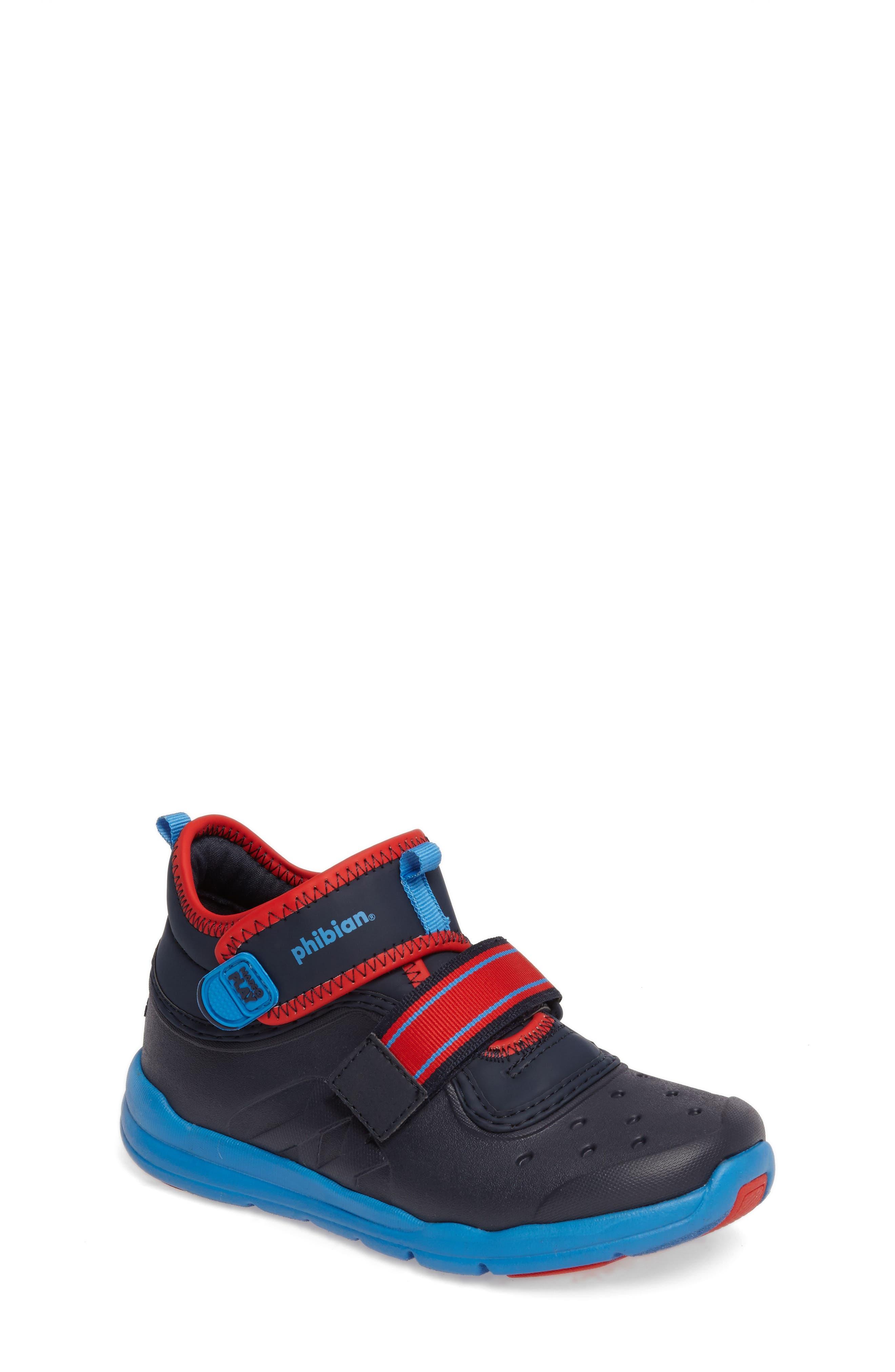 Stride Rite Made2Play® Phibian Mid Top Sneaker (Baby, Walker & Toddler)