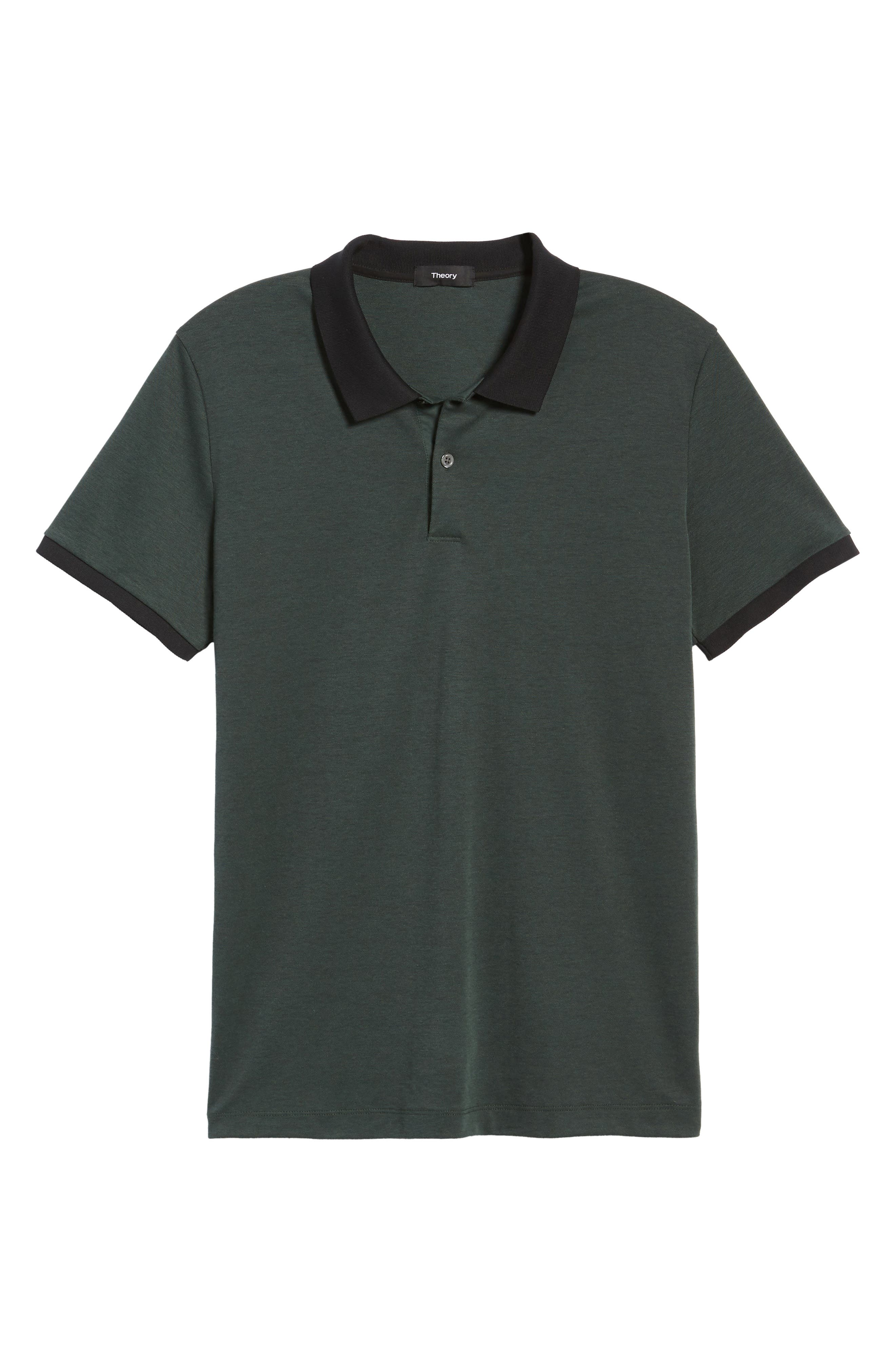 Alternate Image 6  - Theory Current Tipped Piqué Polo