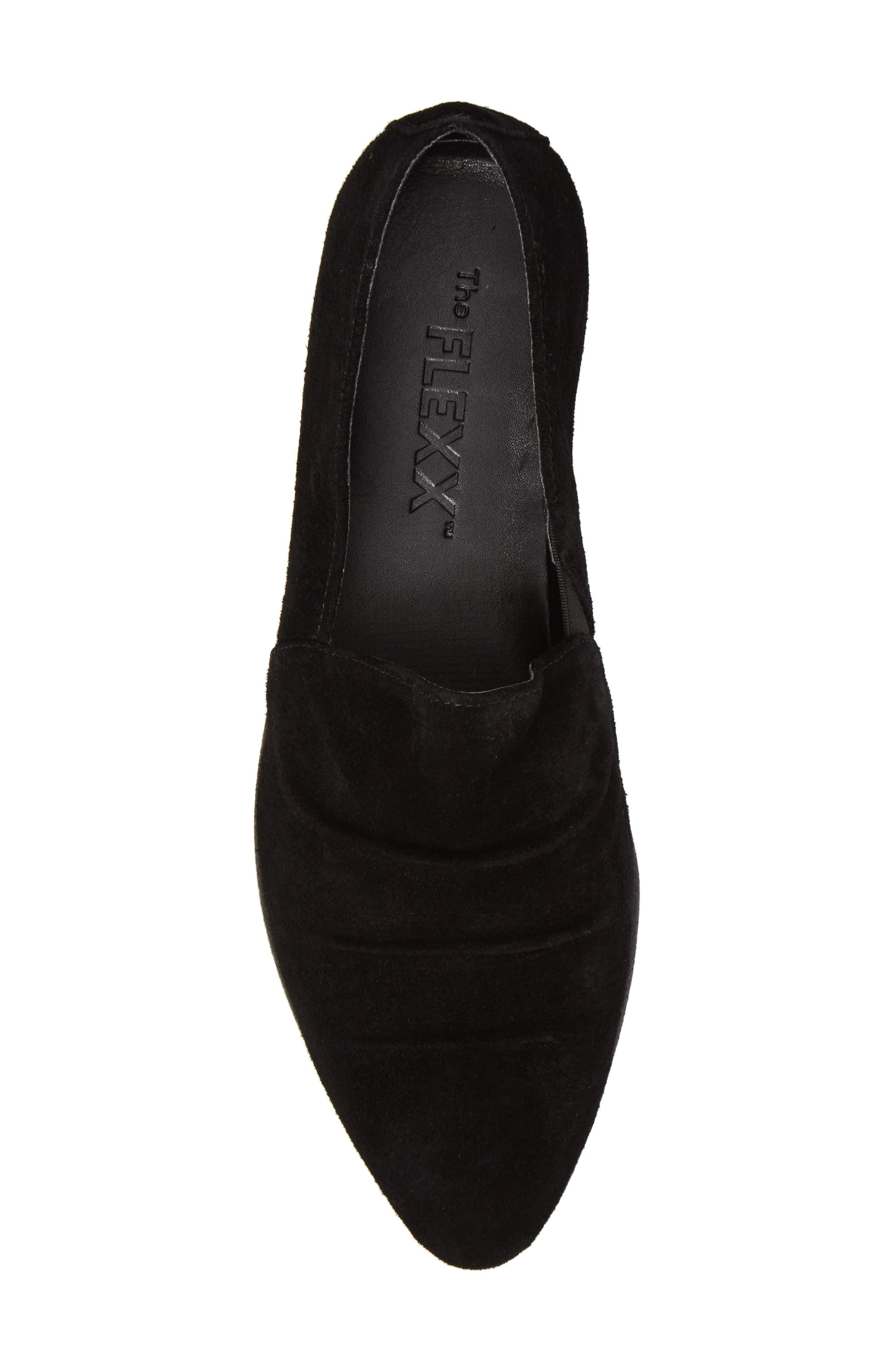 Alternate Image 5  - The FLEXX Draped Wedge Slip-On (Women)