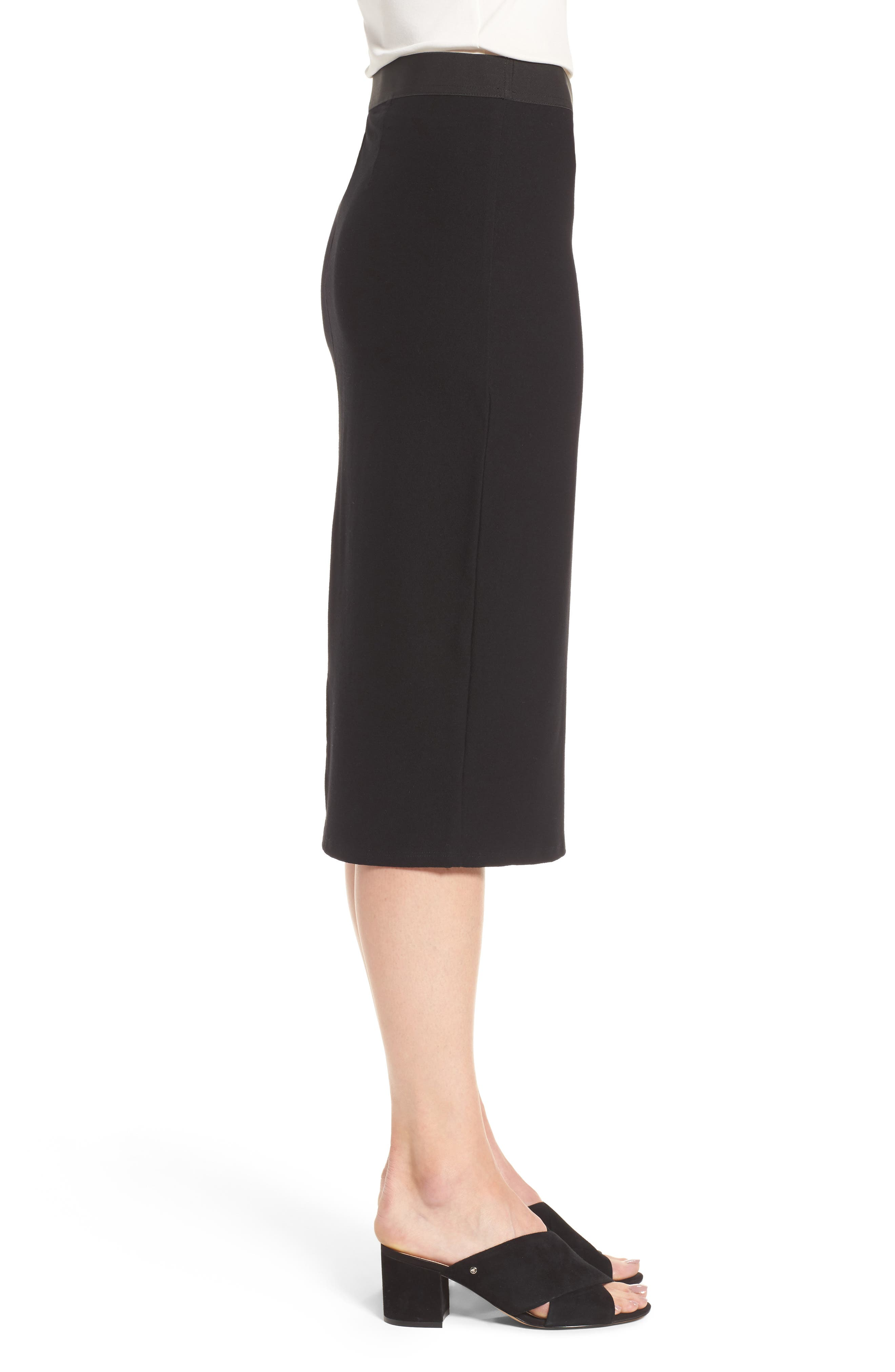 Alternate Image 3  - Eileen Fisher Knit Pencil Skirt (Nordstrom Exclusive)