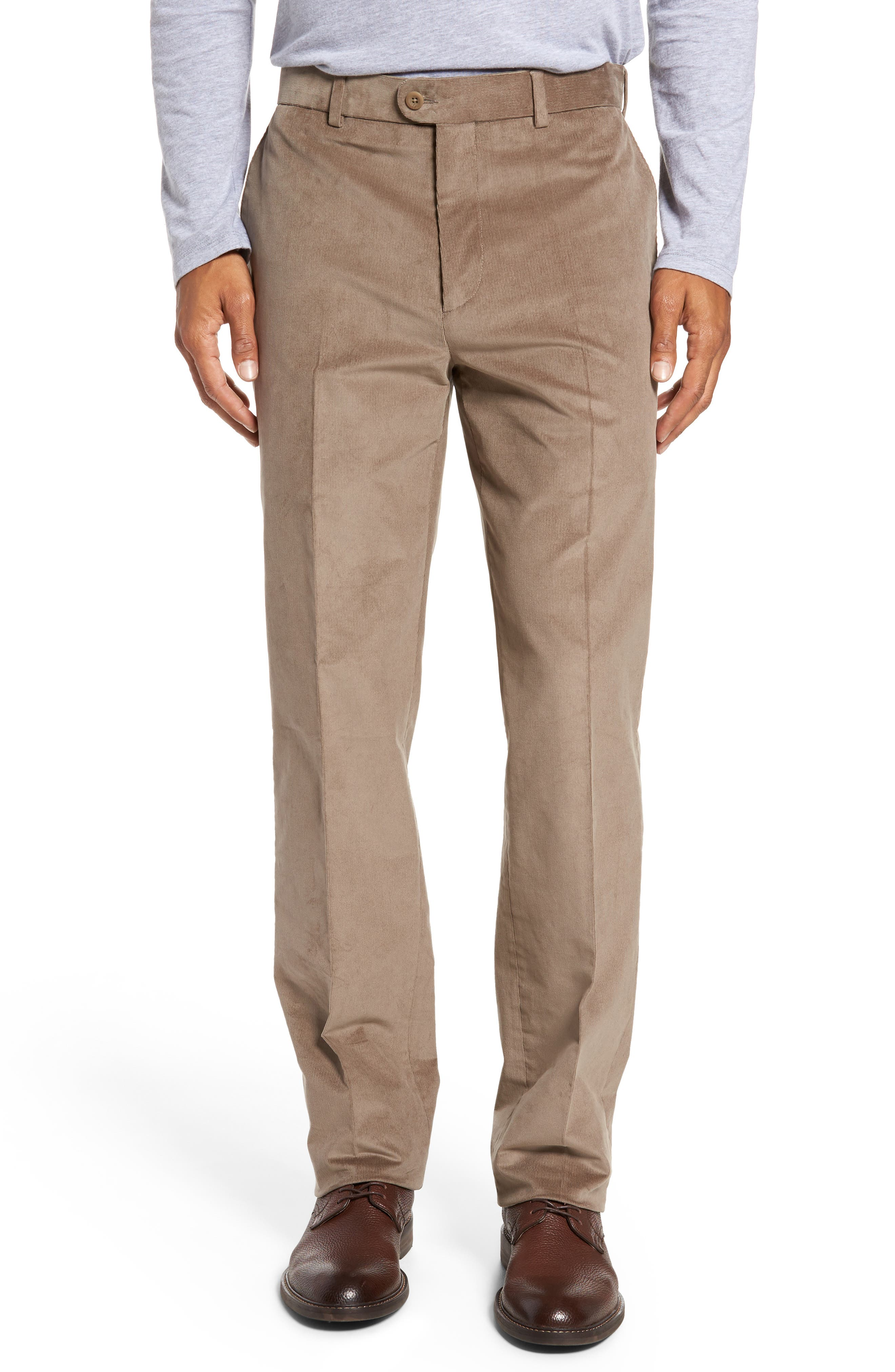 Corduroy Pants,                         Main,                         color, Tan