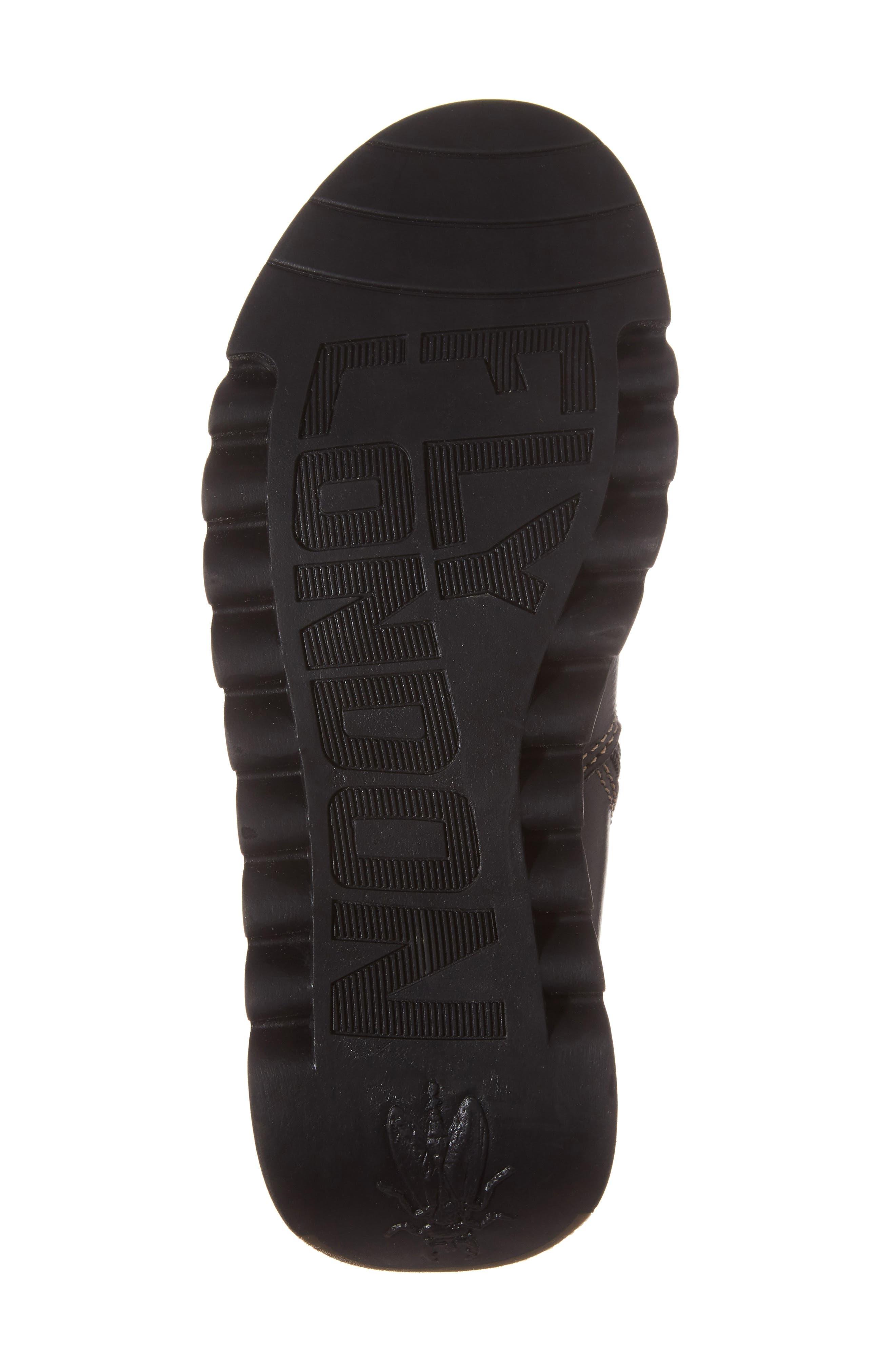 Scop Boot,                             Alternate thumbnail 6, color,                             Black Leather