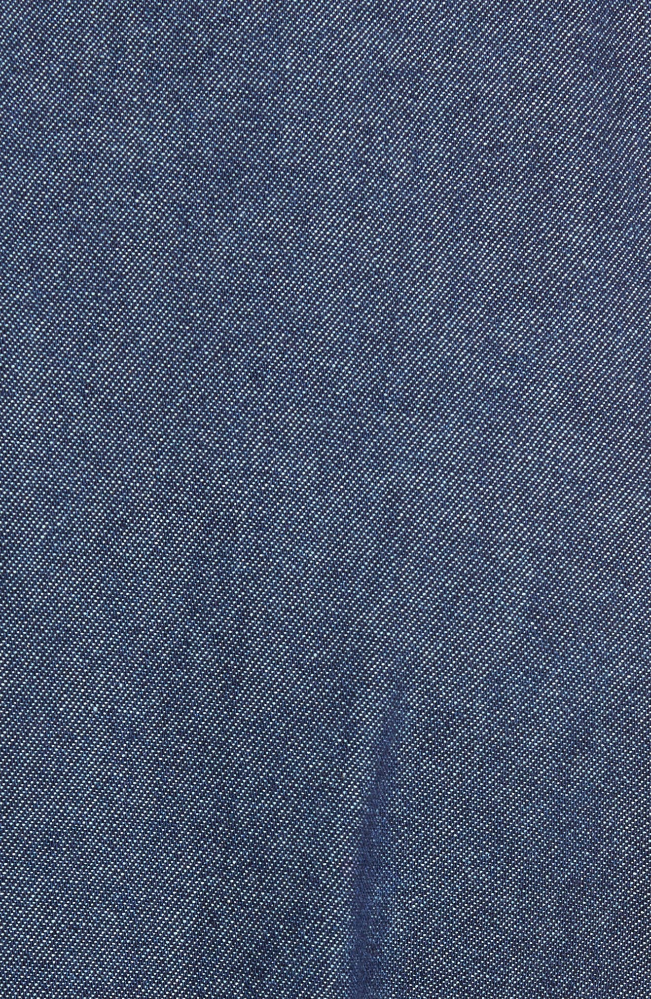 Indigo Long Sleeve Shirt,                             Alternate thumbnail 5, color,                             Indigo