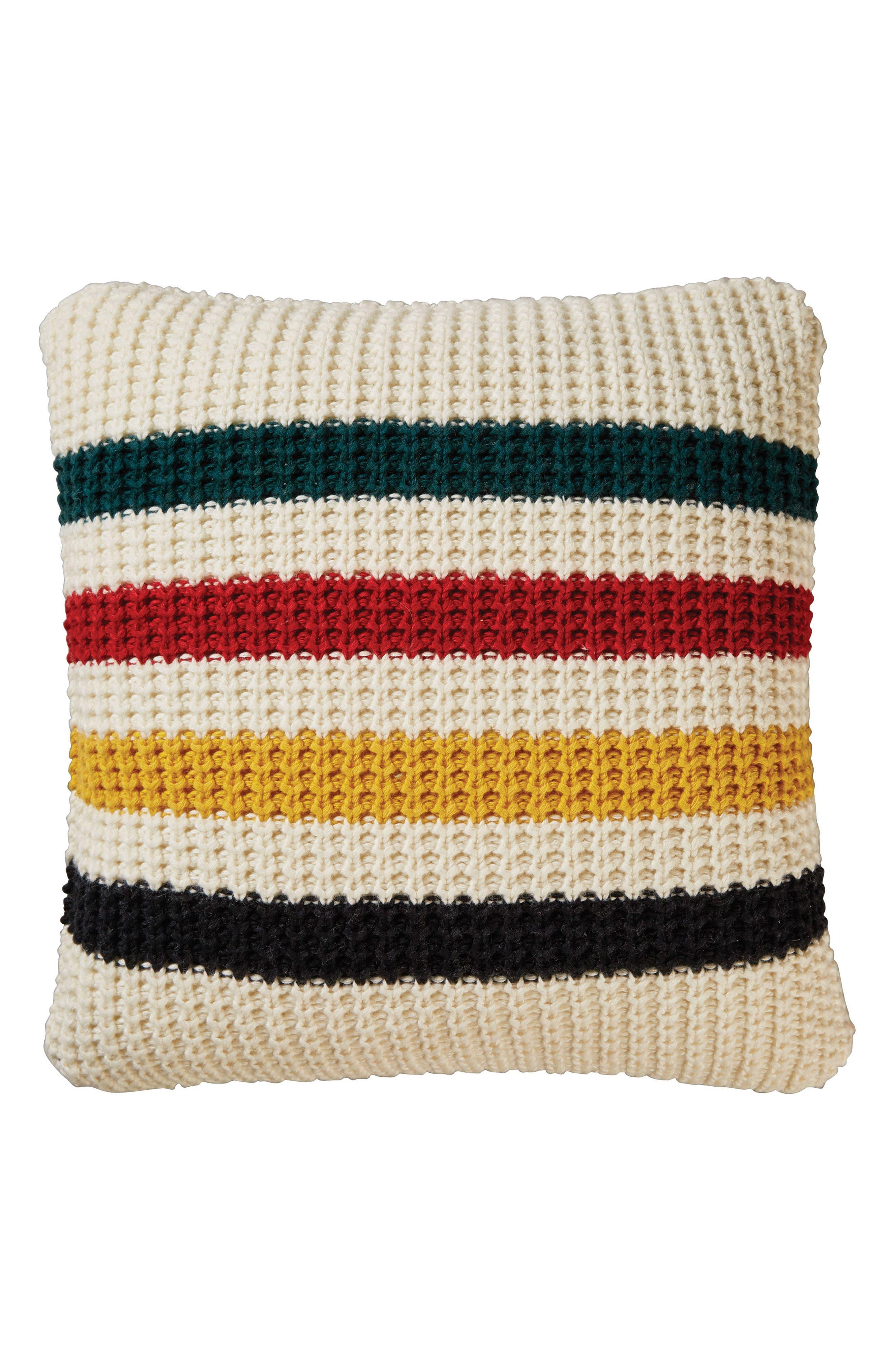 Pendleton Glacier Park Knit Pillow
