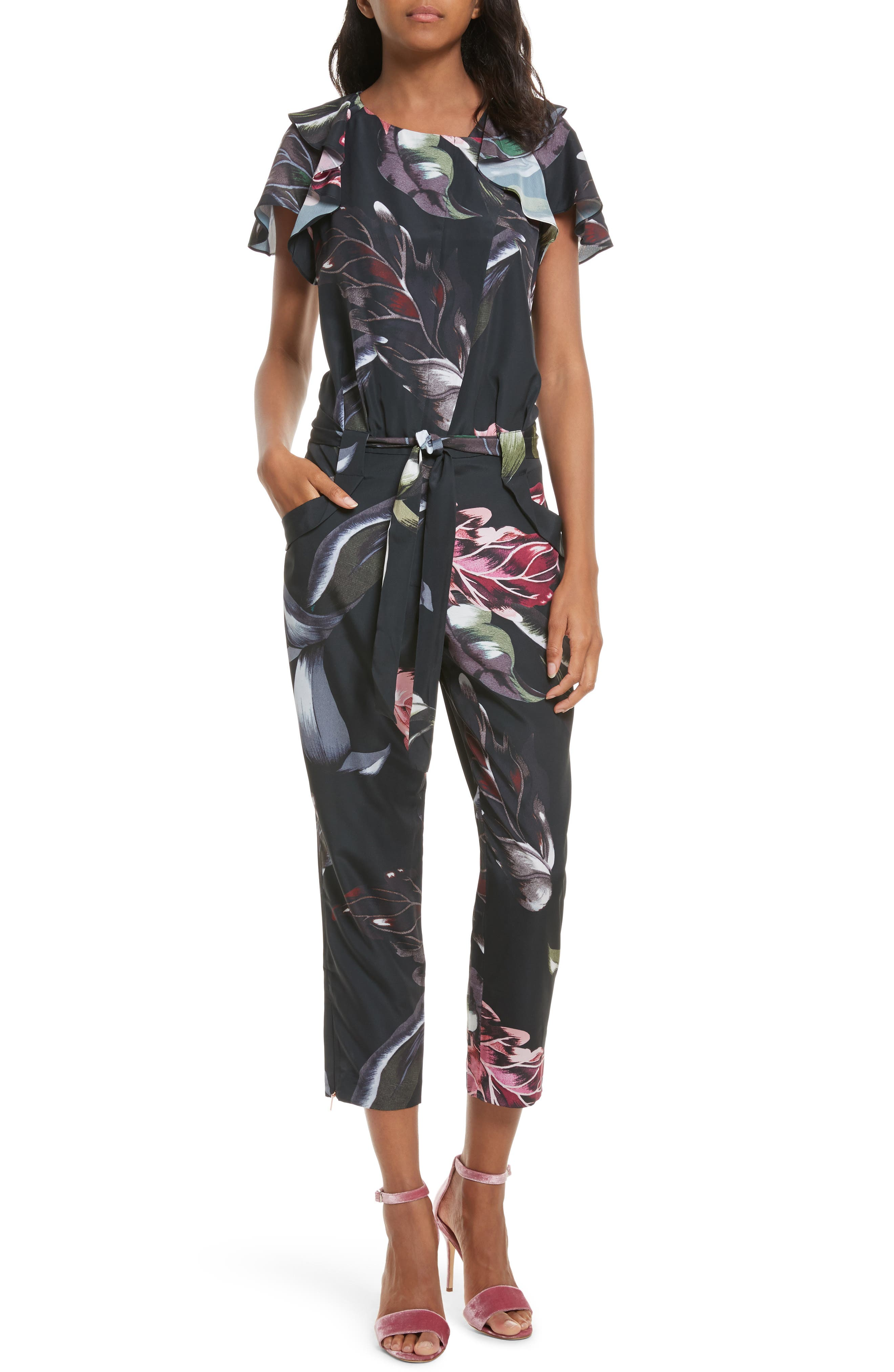 Ted Baker London Blancci Eden Jumpsuit