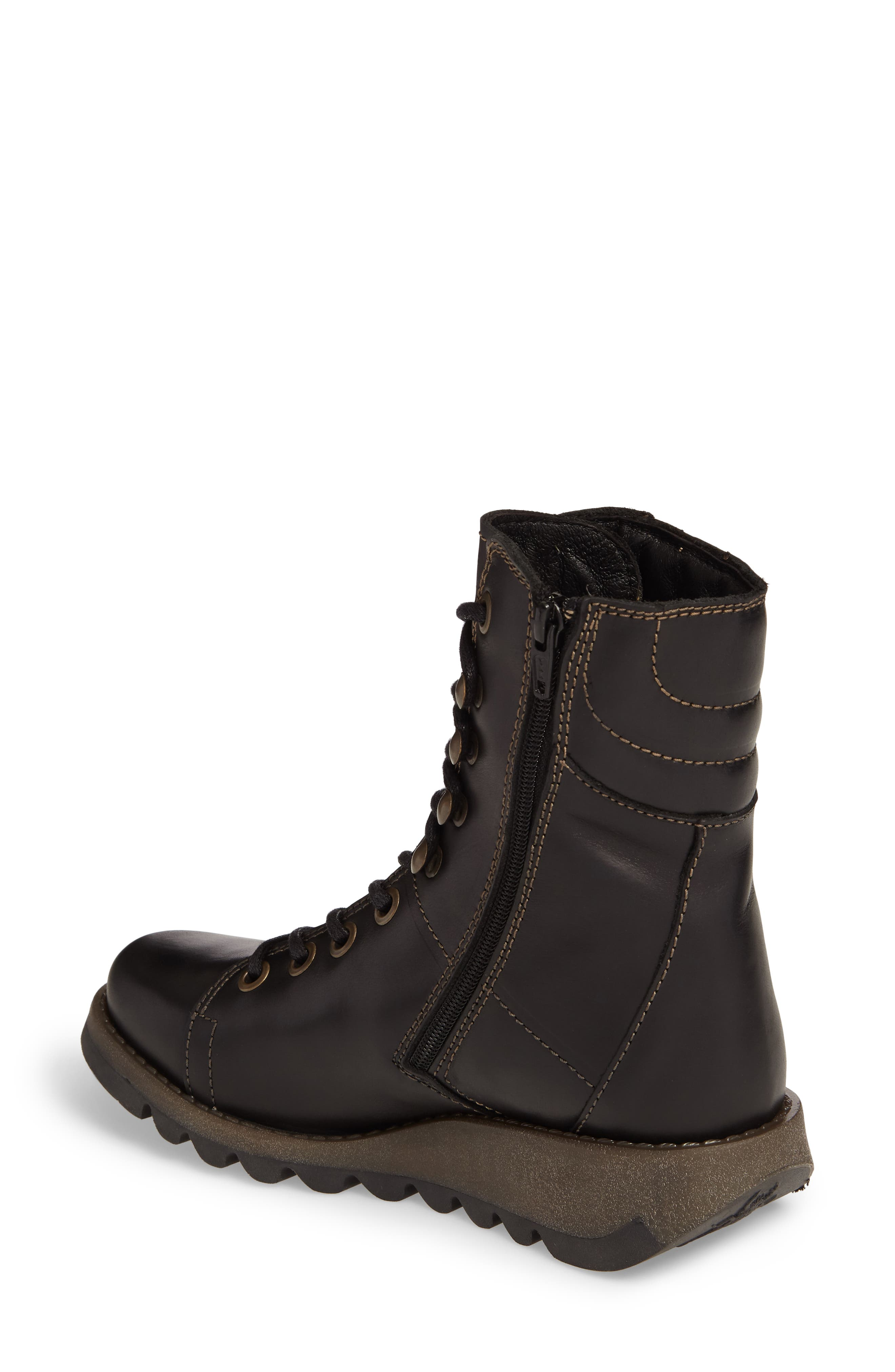Alternate Image 2  - Fly London Same Lace-Up Boot (Women)