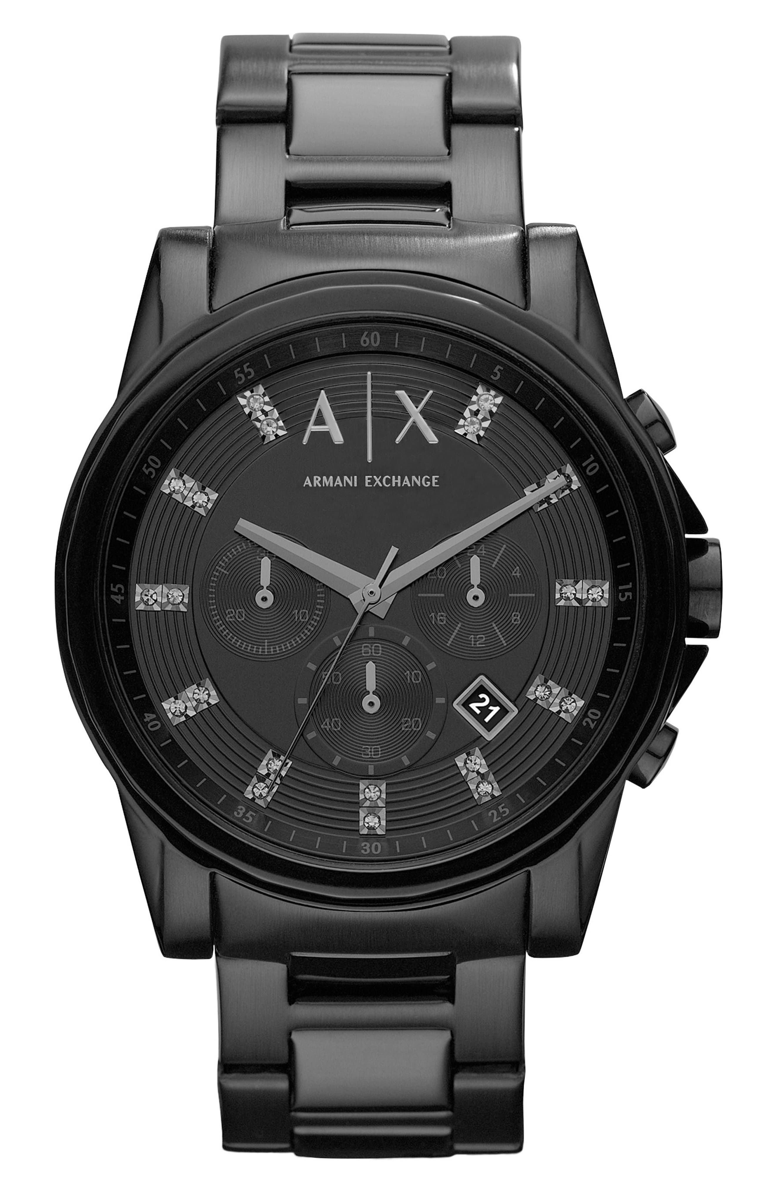 AX Armani Exchange Bracelet Watch, 45mm