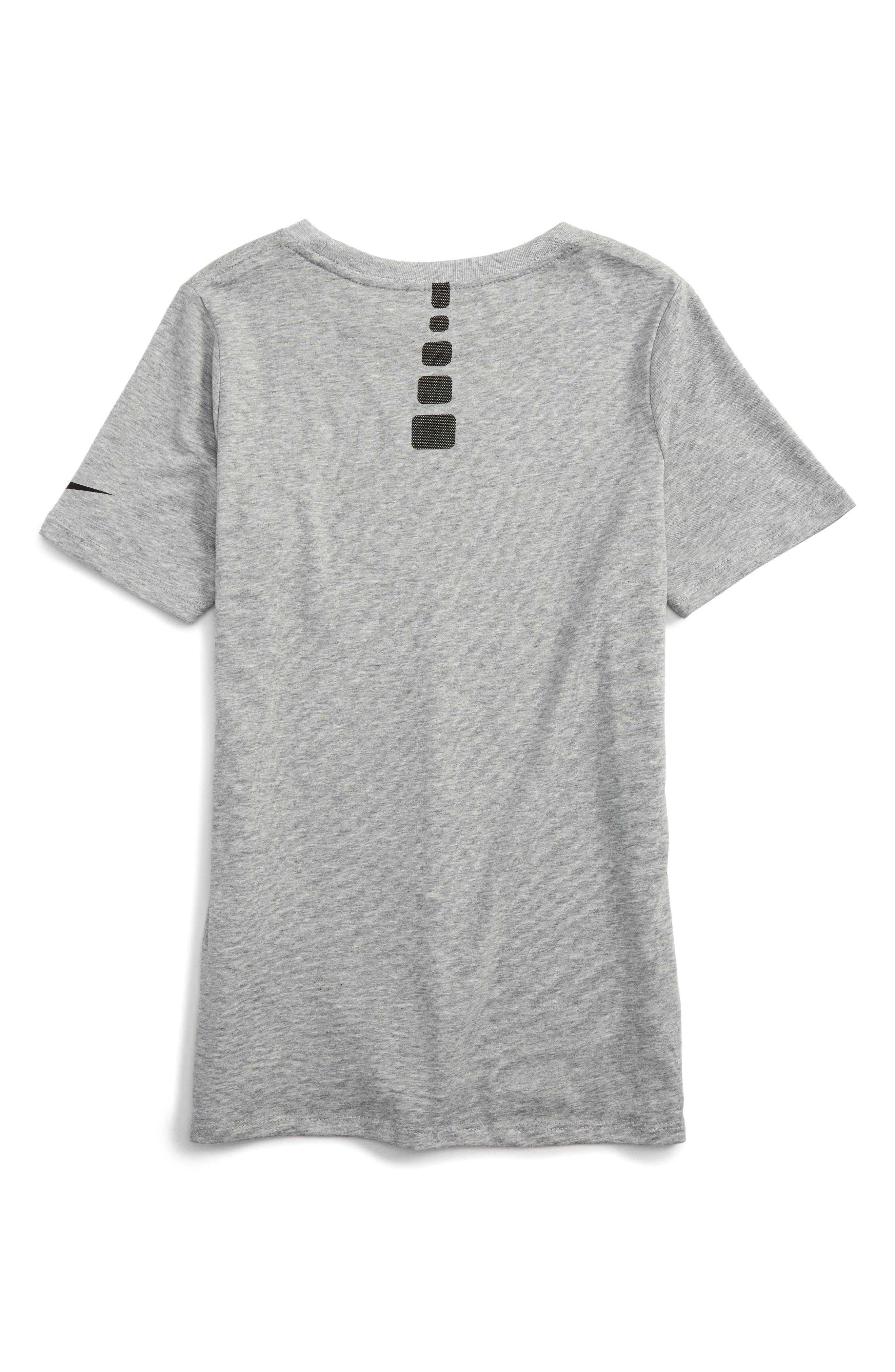 Dry Elite Fade Away Graphic T-Shirt,                             Alternate thumbnail 2, color,                             D Gr H