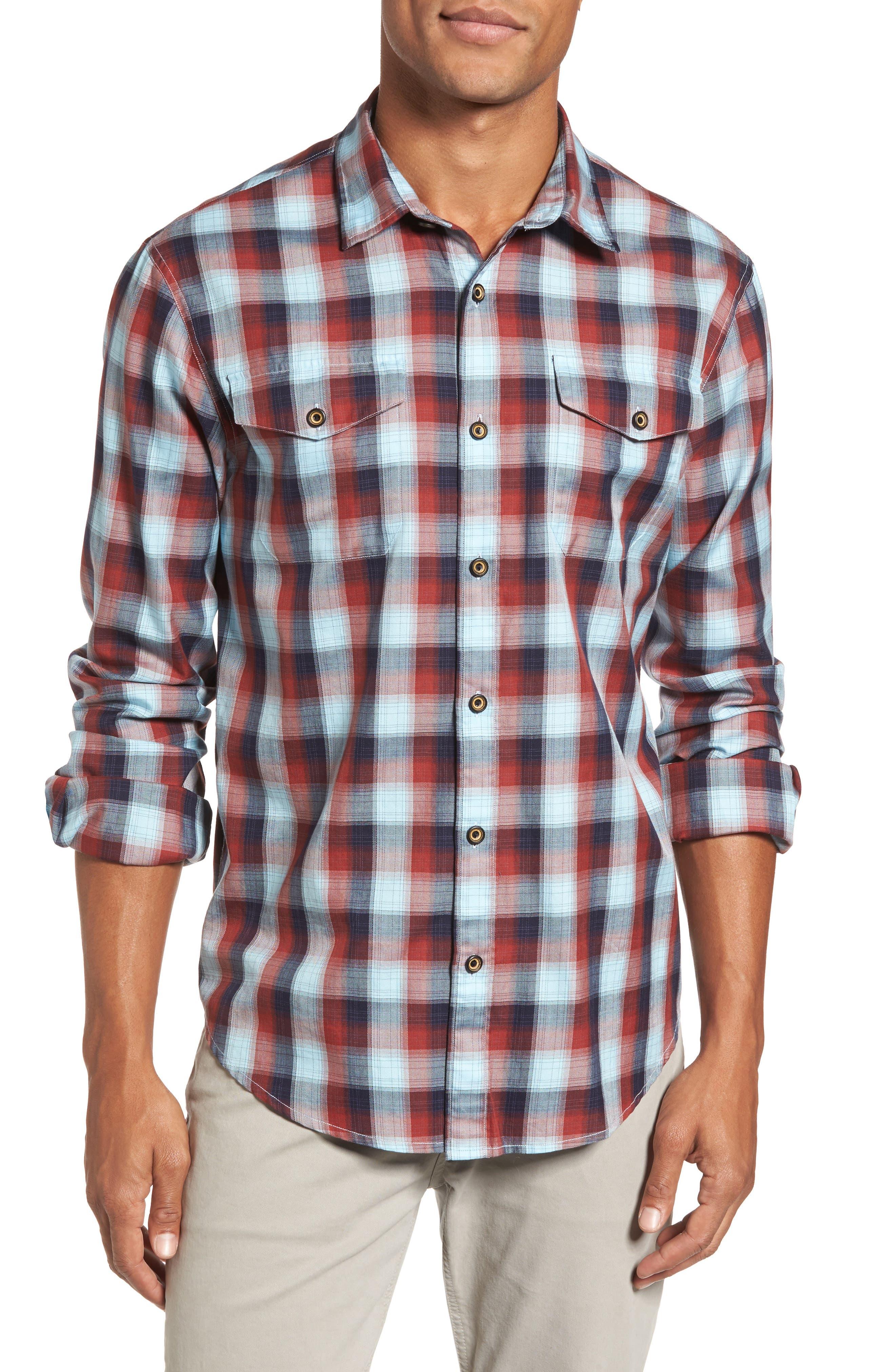 Alternate Image 1 Selected - Coastaoro Redford Check Flannel Shirt