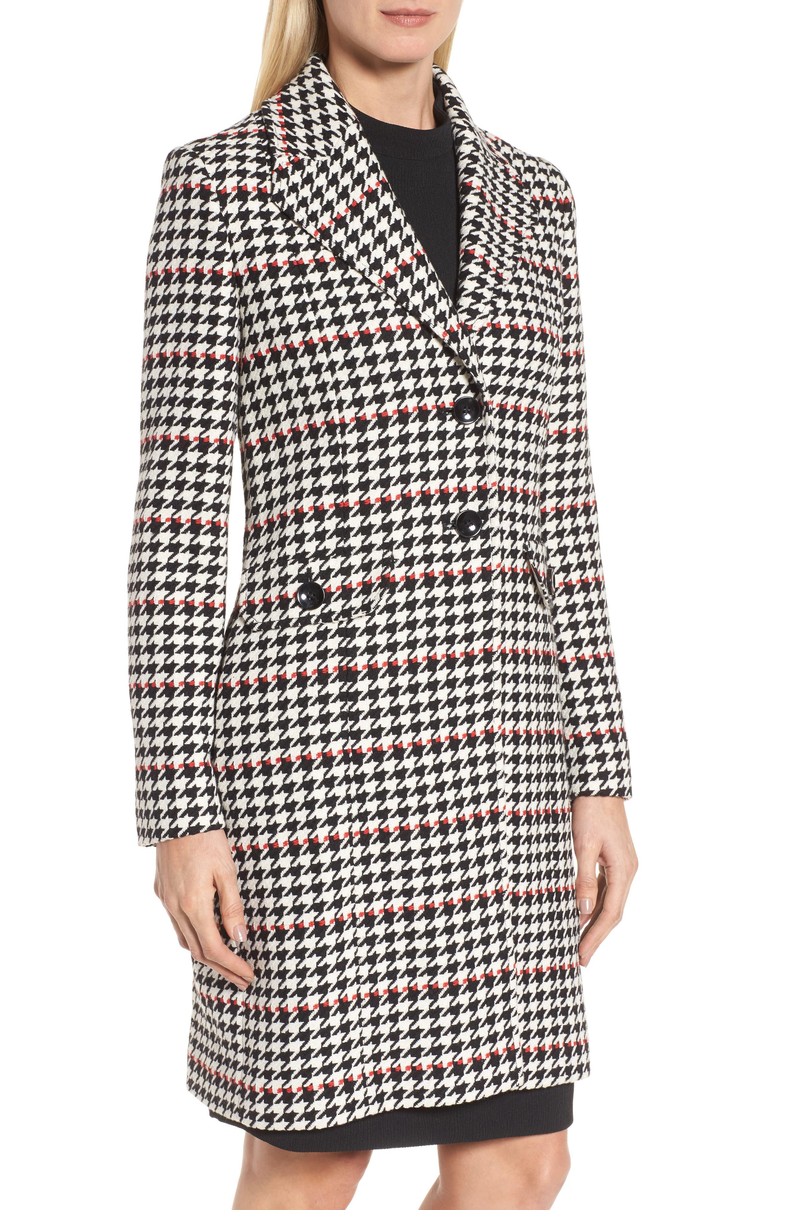 Alternate Image 4  - BOSS Cunarda Houndstooth Coat