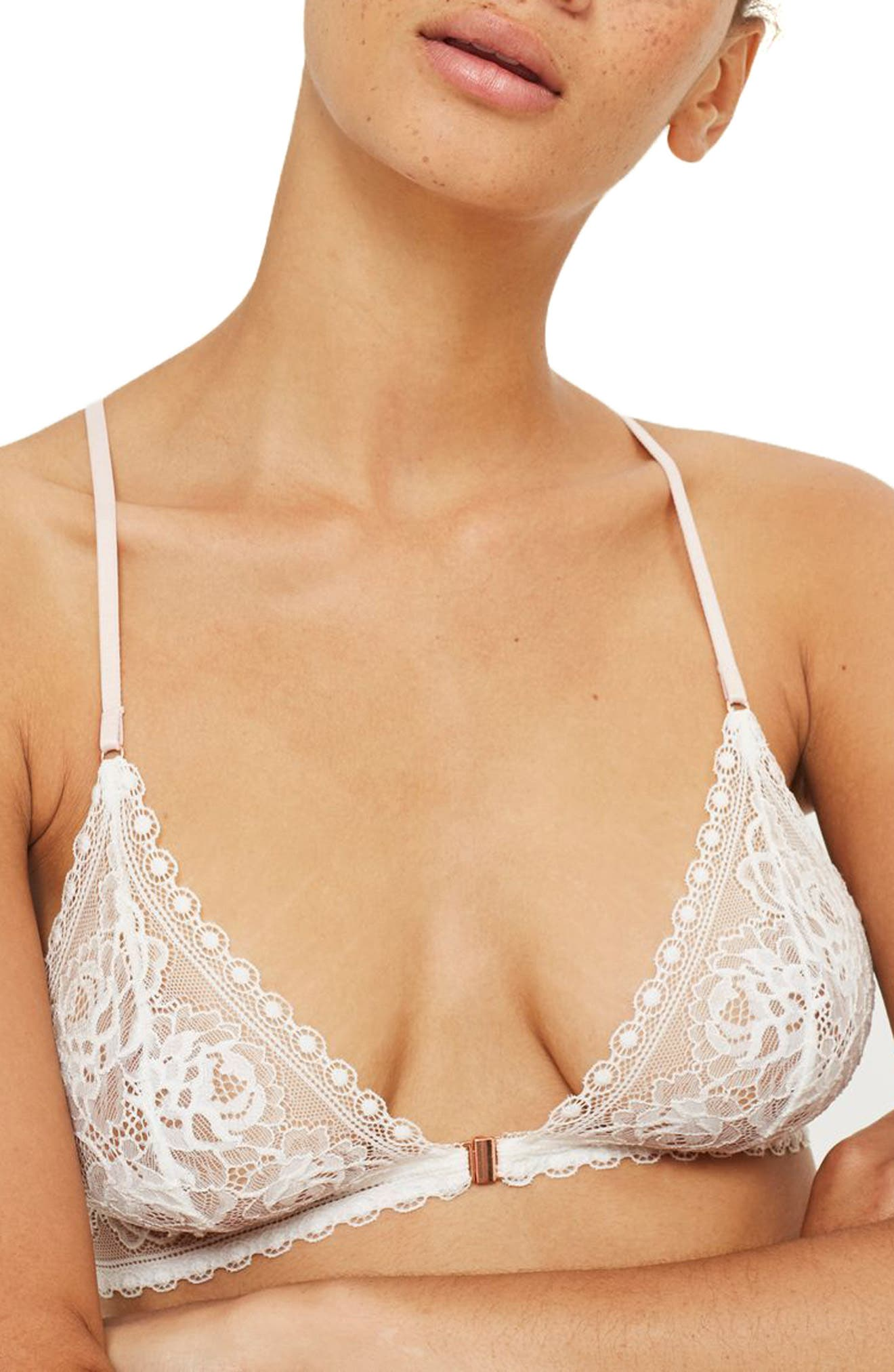 Alternate Image 1 Selected - Topshop Serina Triangle Bralette