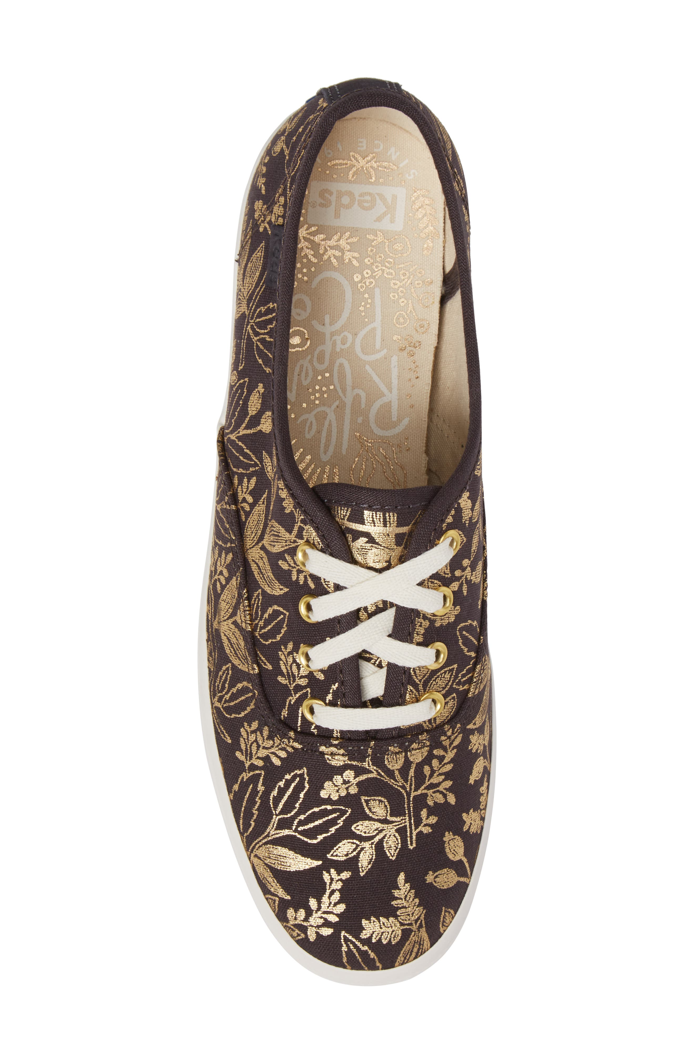 Alternate Image 5  - Keds® x Rifle Paper Co. Queen Anne Sneaker (Women)