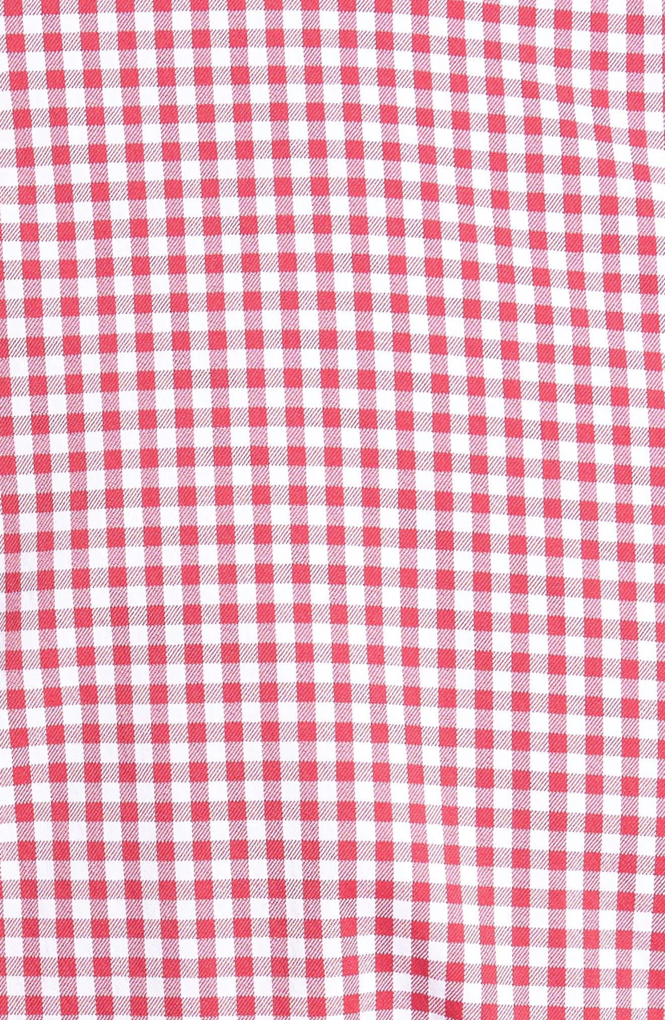 Alternate Image 5  - Bobby Jones Ramsey Easy Care Gingham Sport Shirt