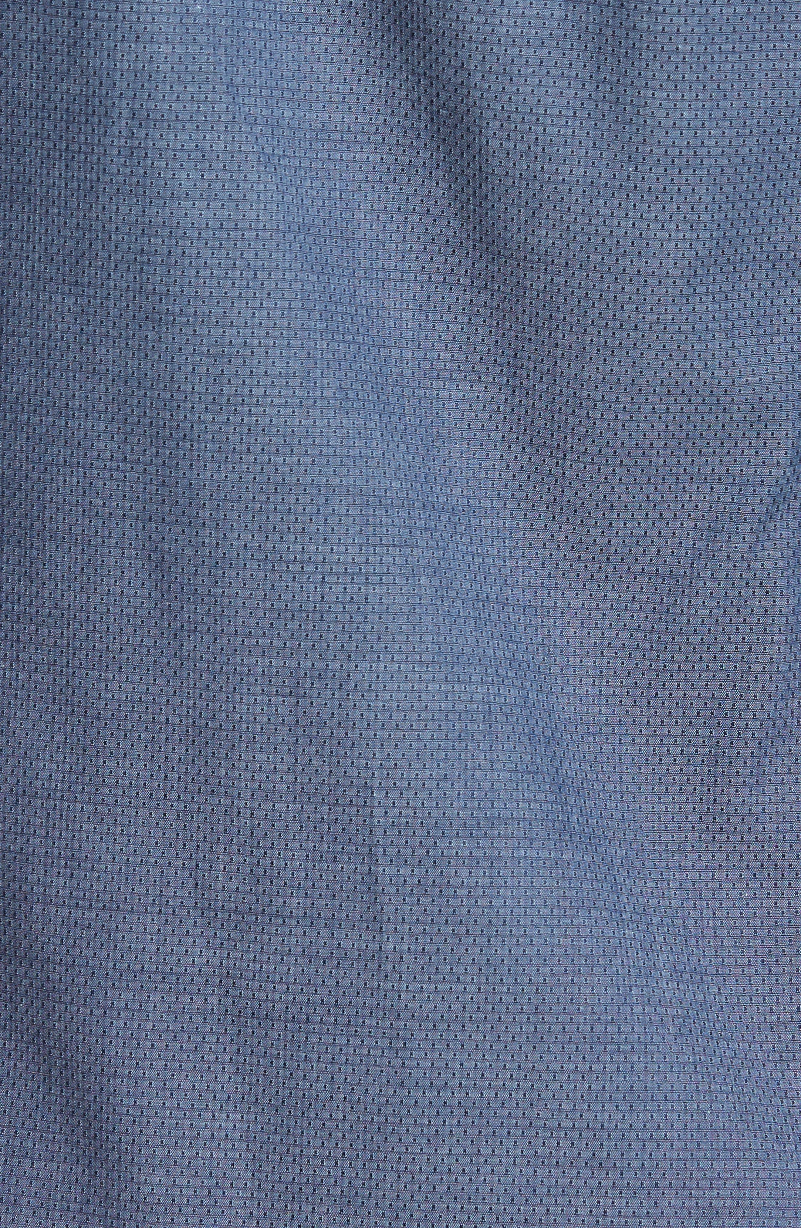 Alternate Image 5  - Pal Zileri Mini Brick Check Sport Shirt