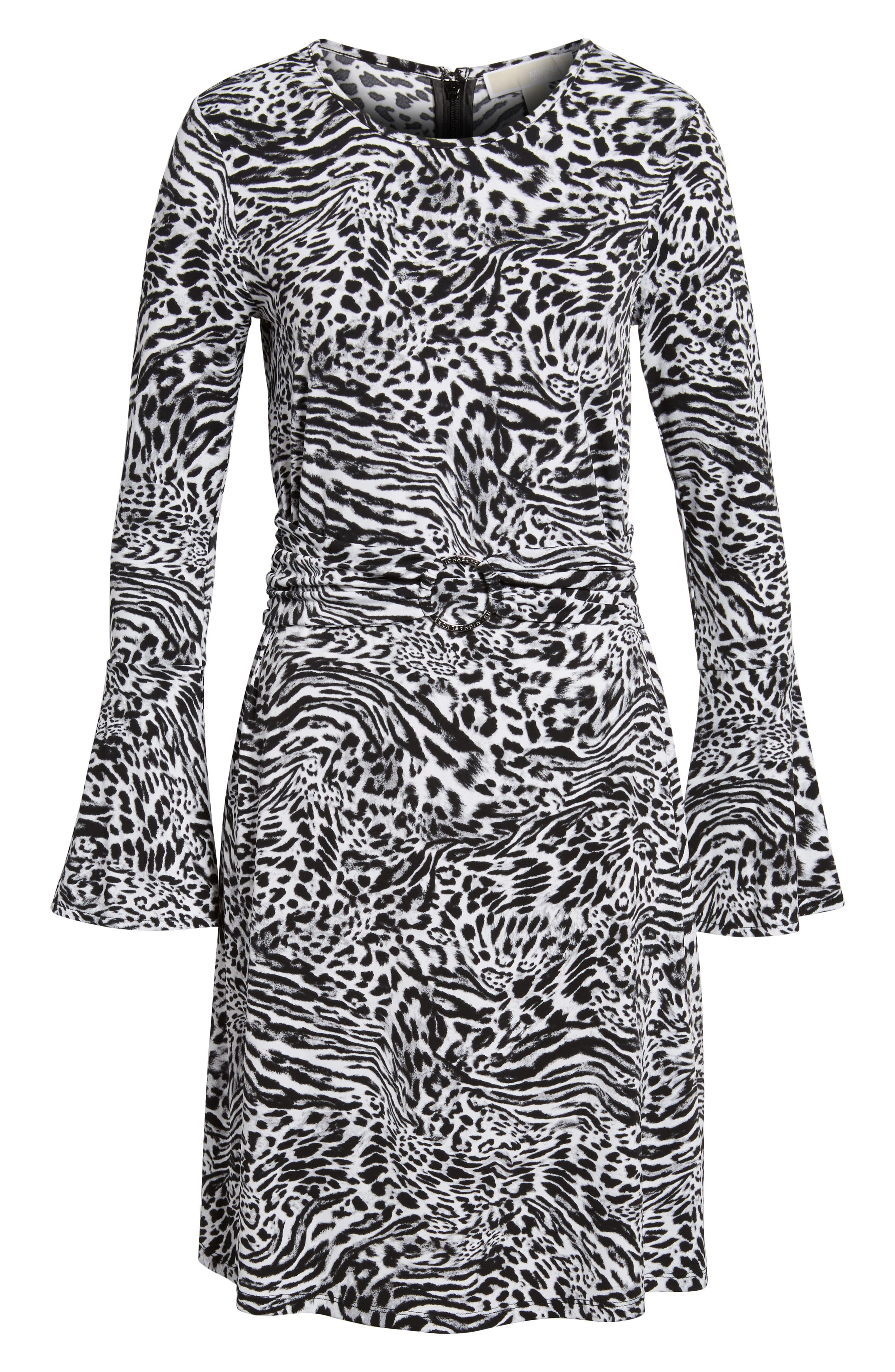 Alternate Image 6  - MICHAEL Michael Kors Big Cat A-Line Dress