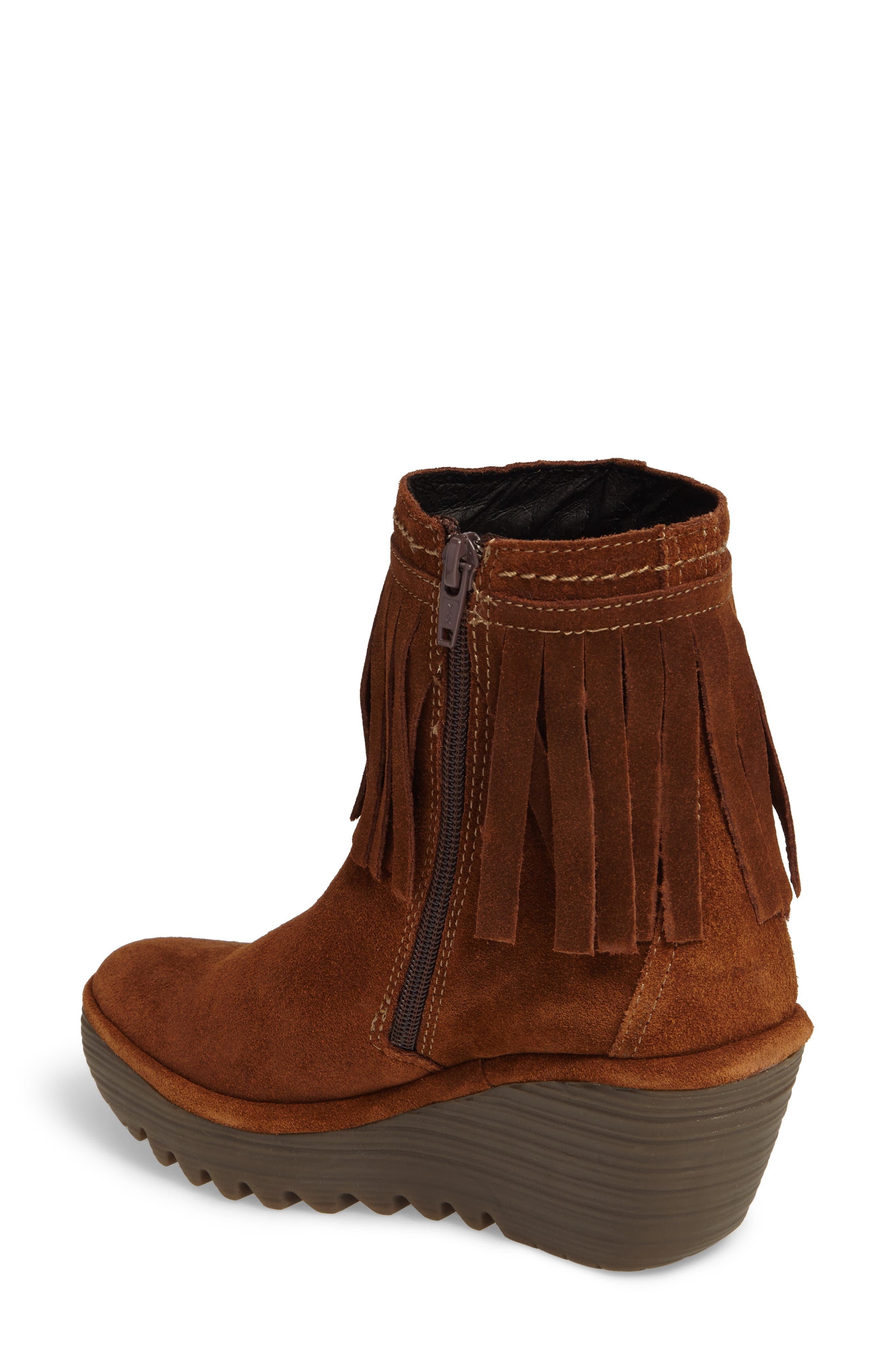 Alternate Image 2  - Fly London Yagi Fringe Boot (Women)