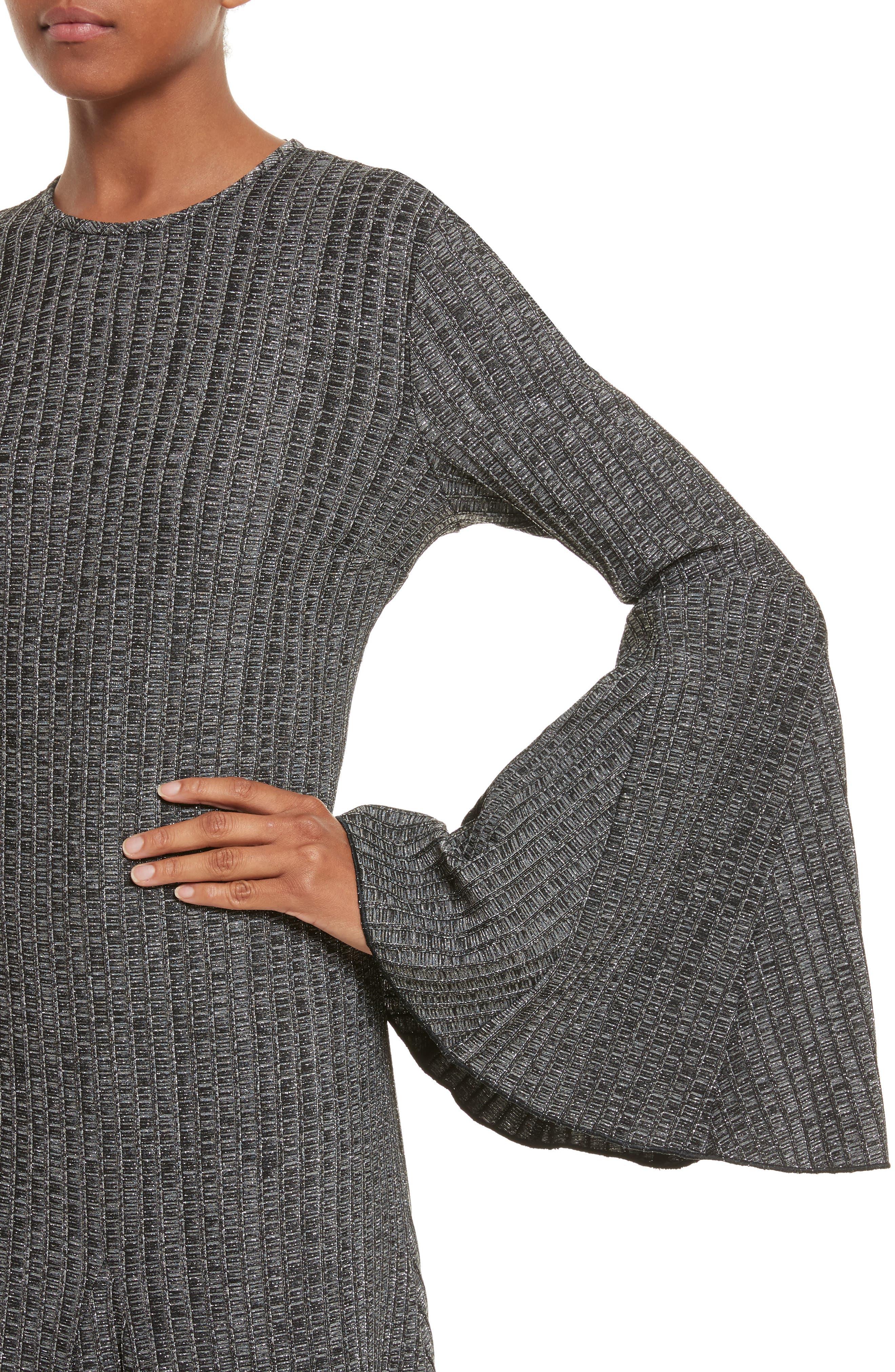 Alternate Image 4  - ELLERY Conrad Godet Hem Dress