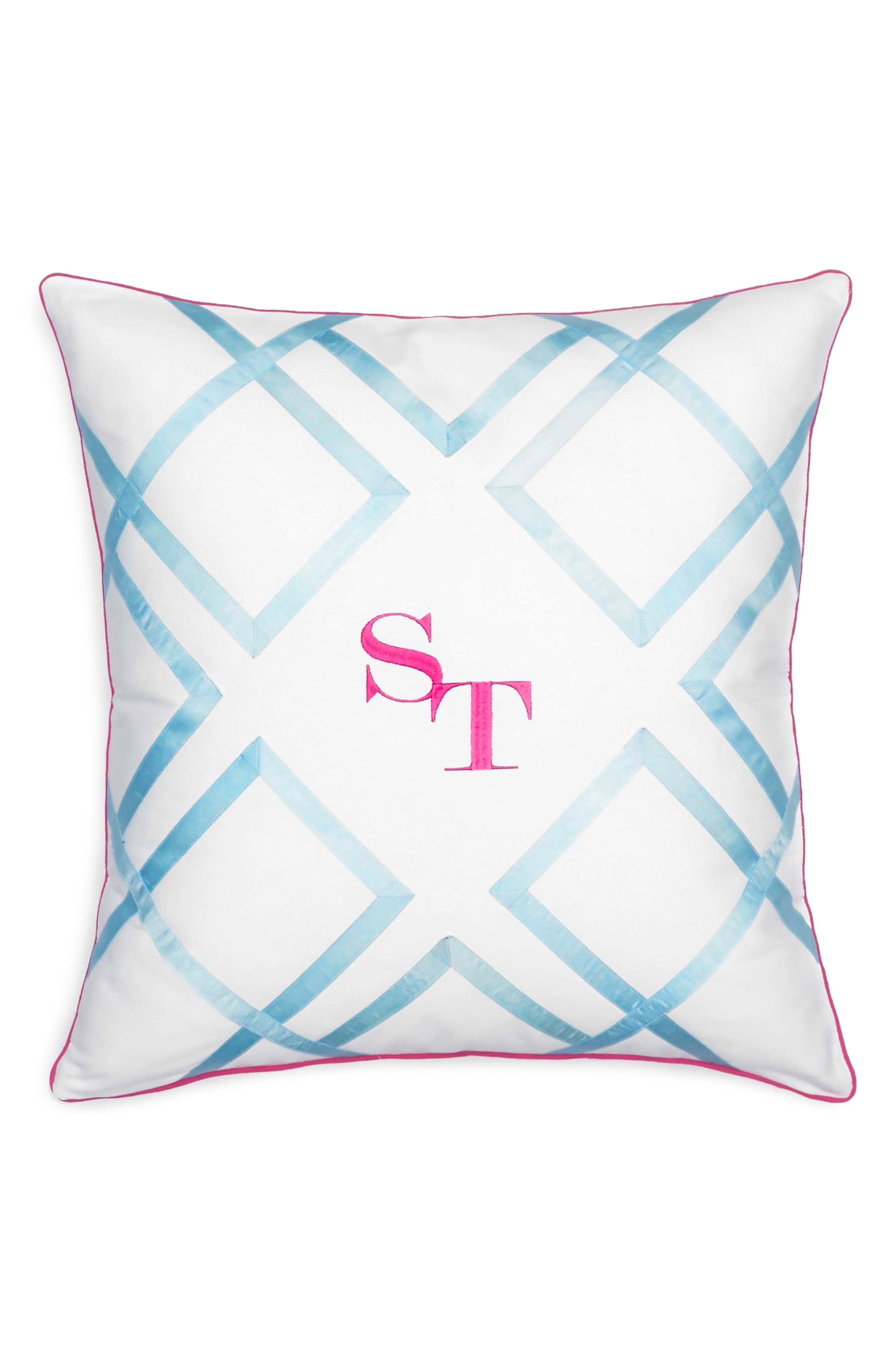 Main Image - Southern Tide Long Bay Stripe Pillow
