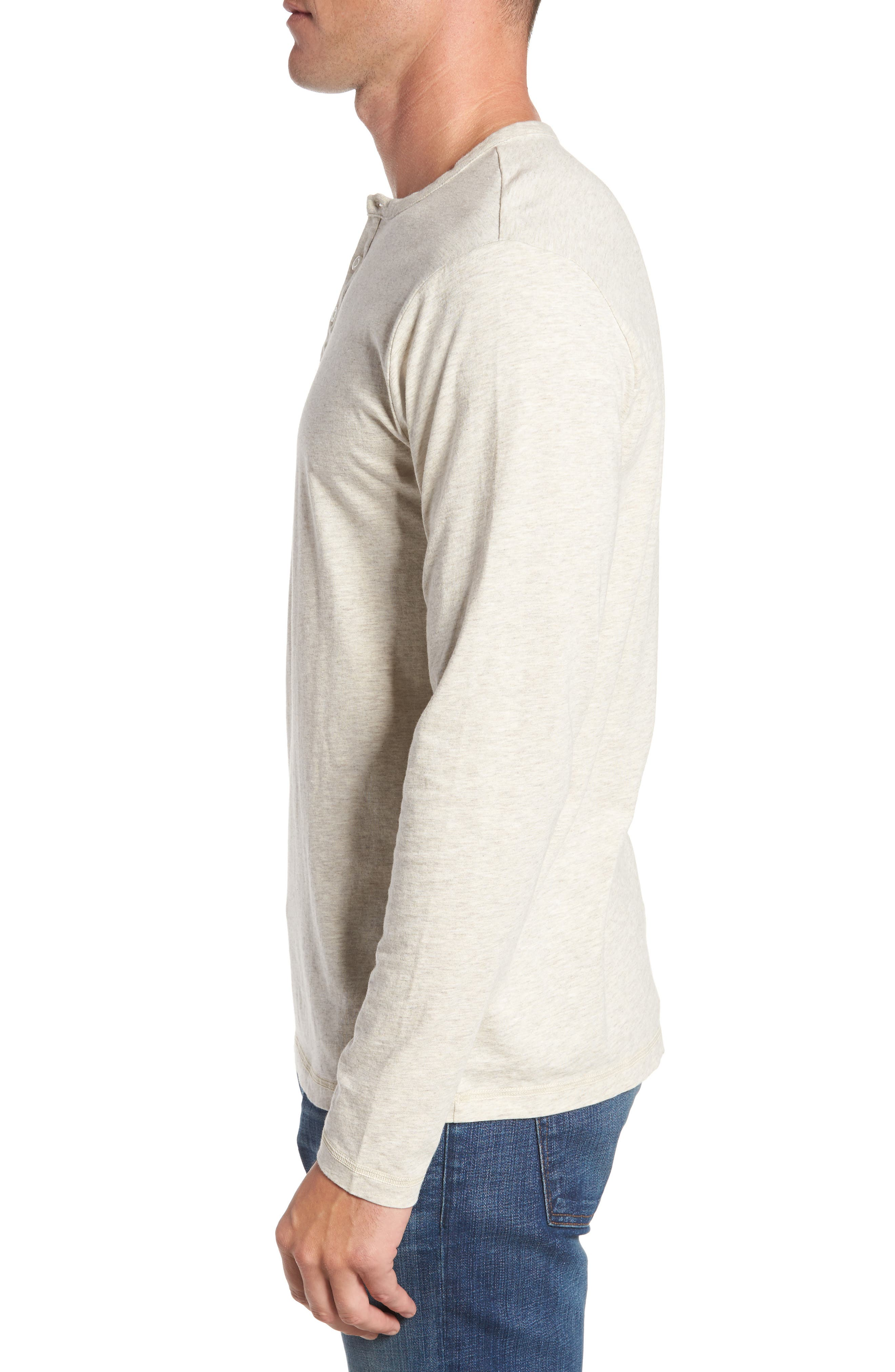 Alternate Image 3  - Patagonia 'Daily' Long Sleeve Organic Cotton Henley