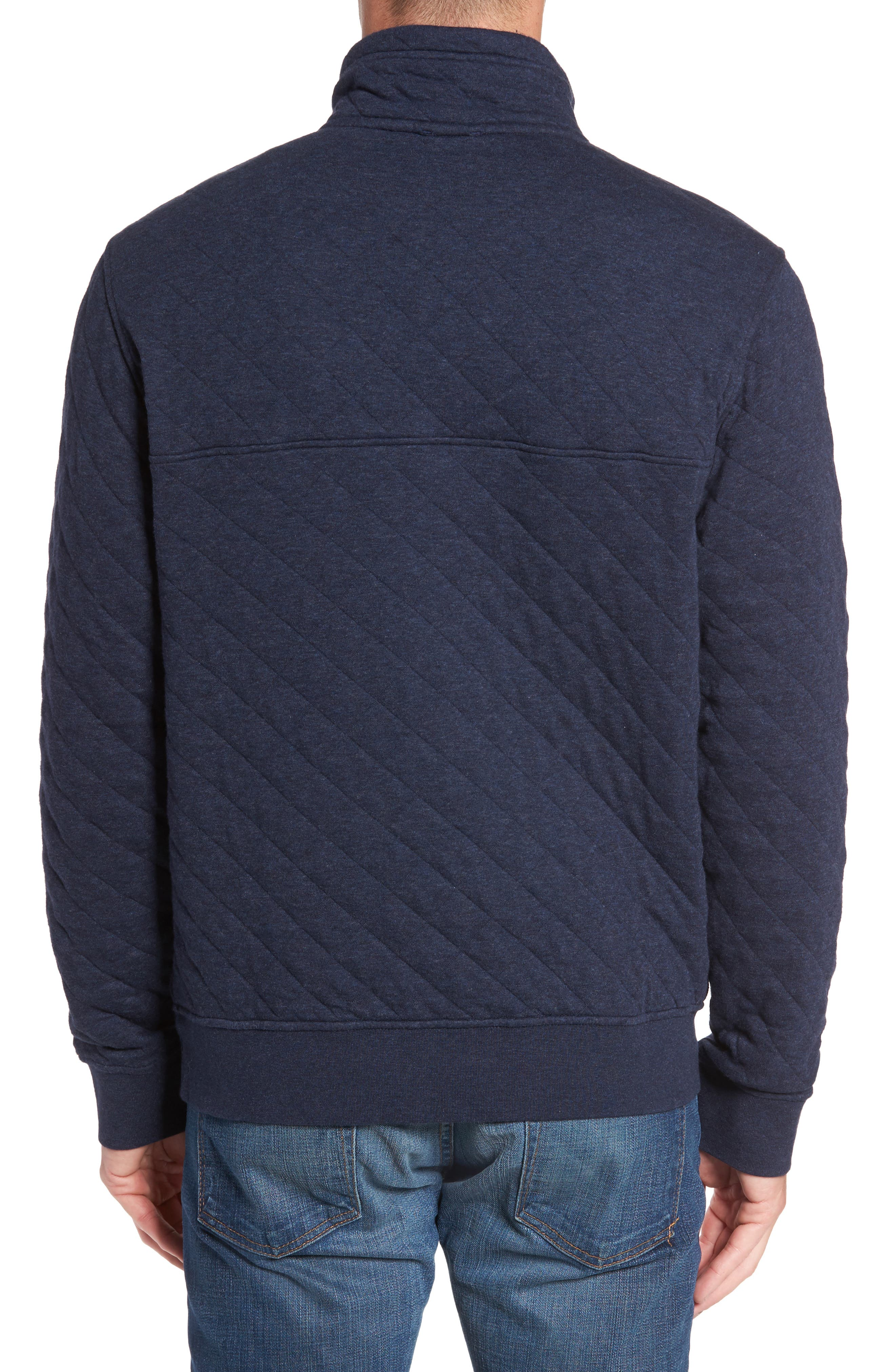 Alternate Image 2  - Patagonia Snap-T Quilted Fleece Pullover