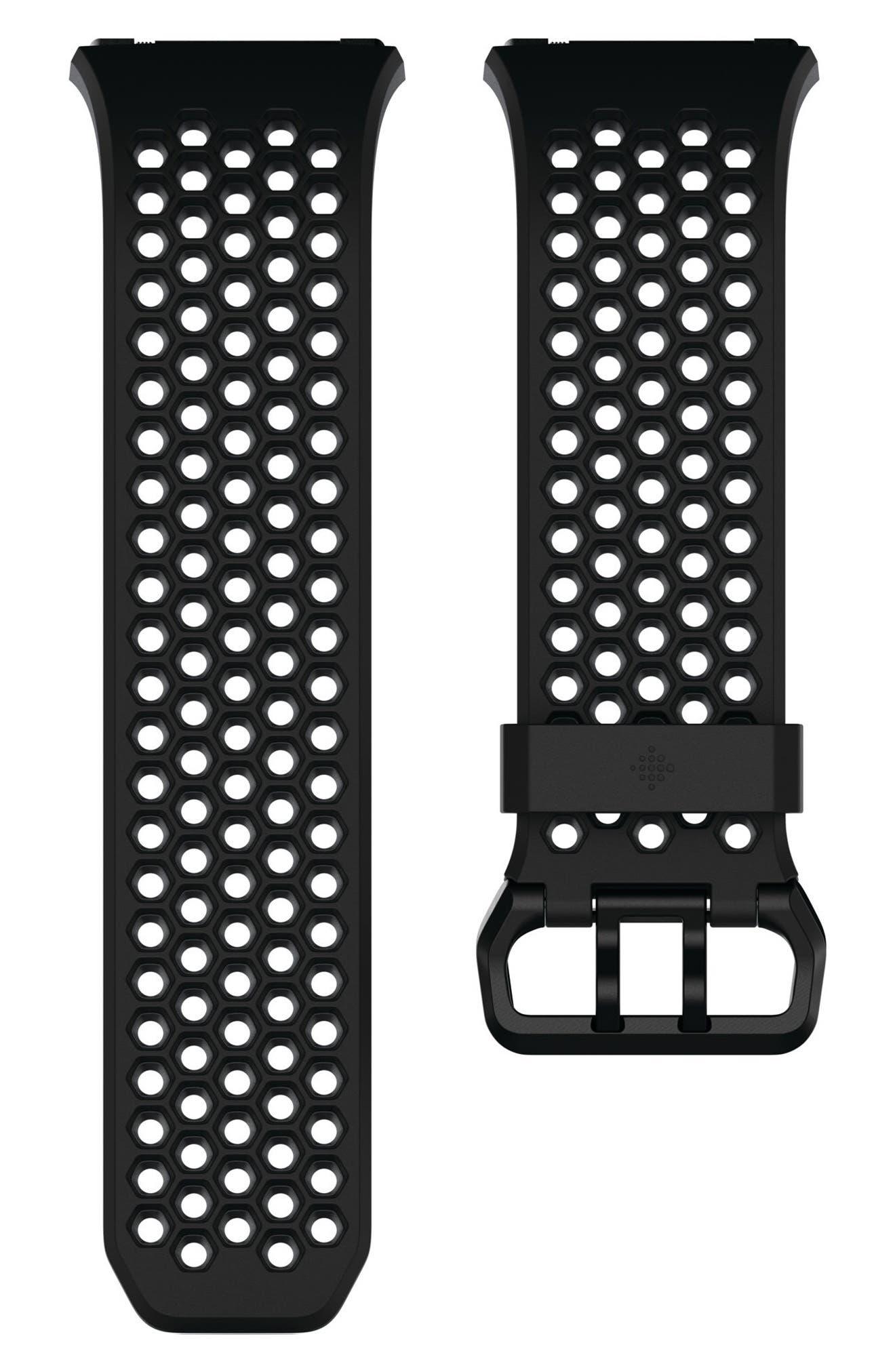 Ionic Accessory Band,                             Main thumbnail 1, color,                             Black Grey
