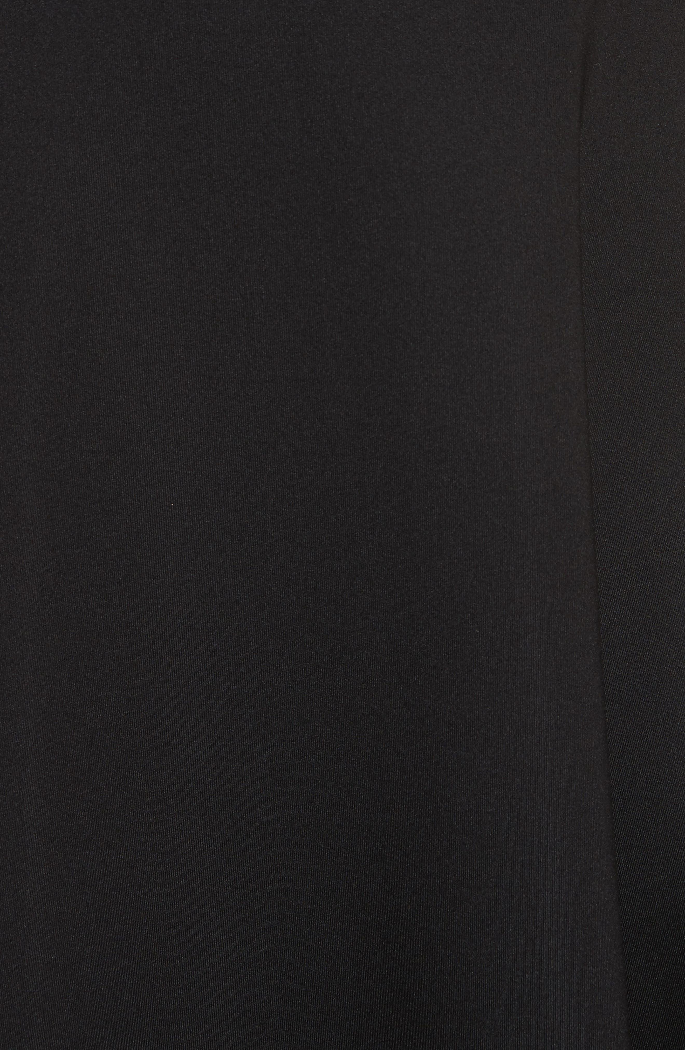 Harlock Fit & Flare Dress,                             Alternate thumbnail 5, color,                             Black