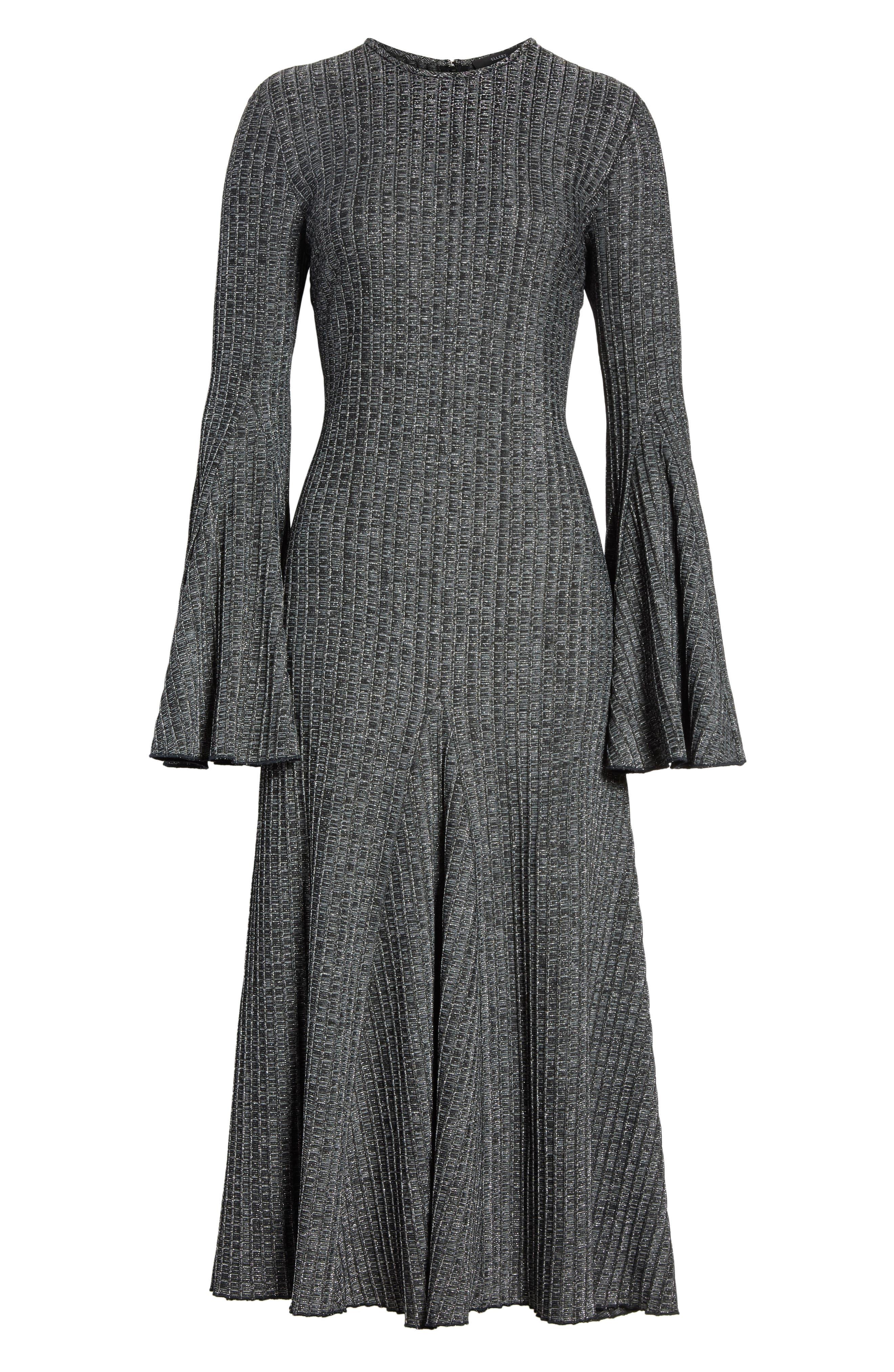 Alternate Image 6  - ELLERY Conrad Godet Hem Dress