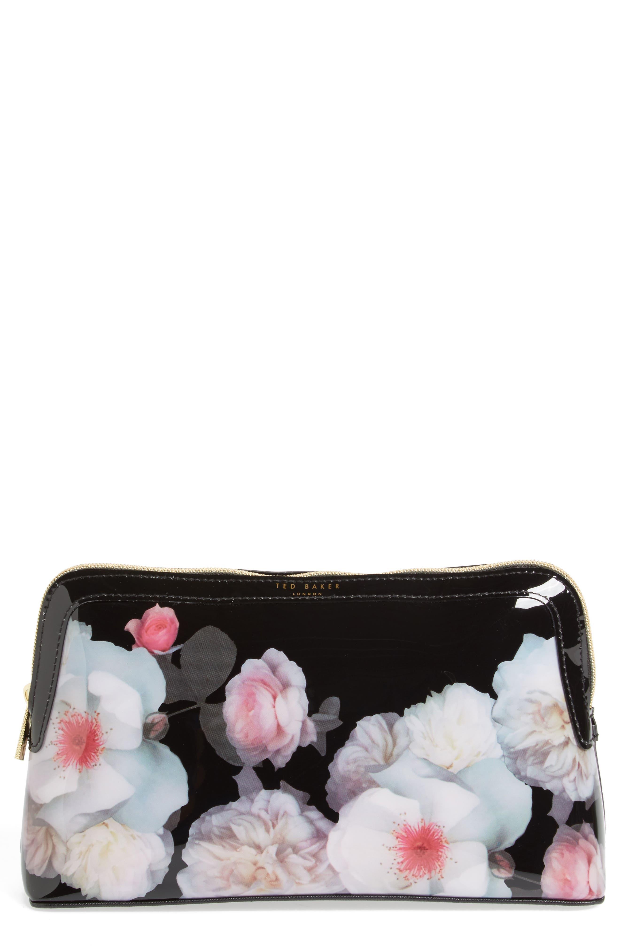 Joeann Chelsea Wash Bag,                         Main,                         color, Black