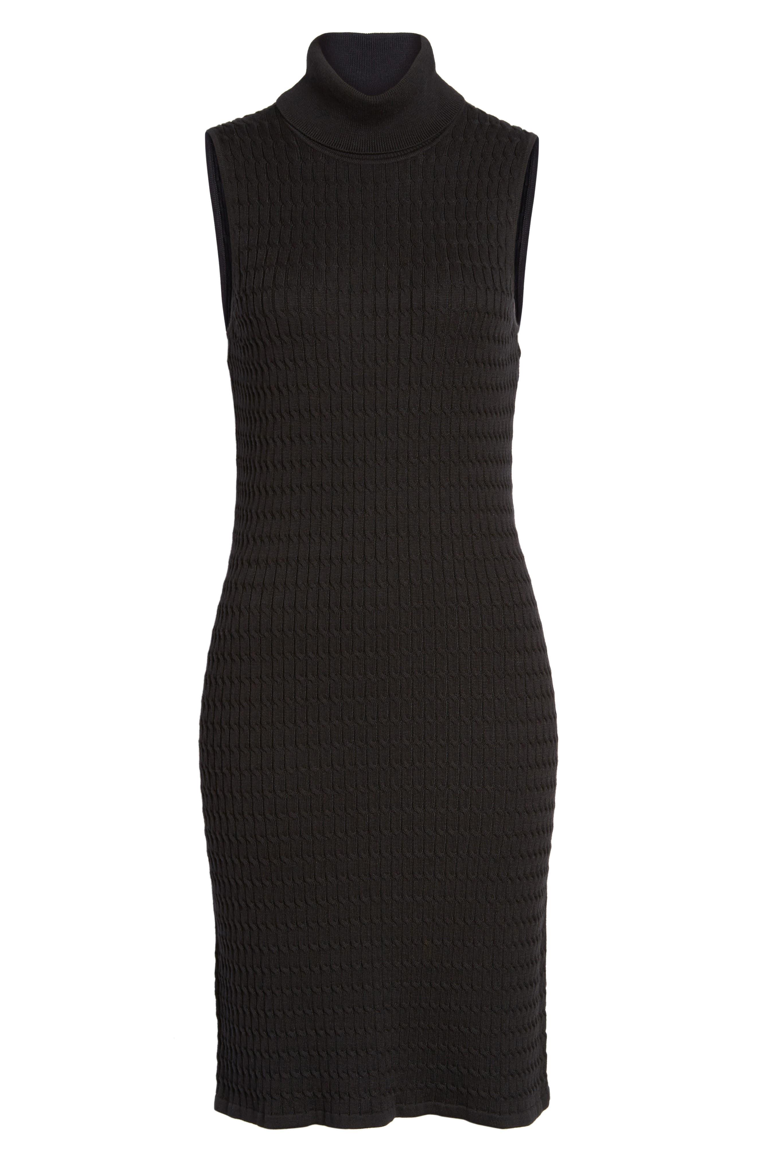 Alternate Image 6  - Tommy Bahama Sleeveless Turtleneck Dress