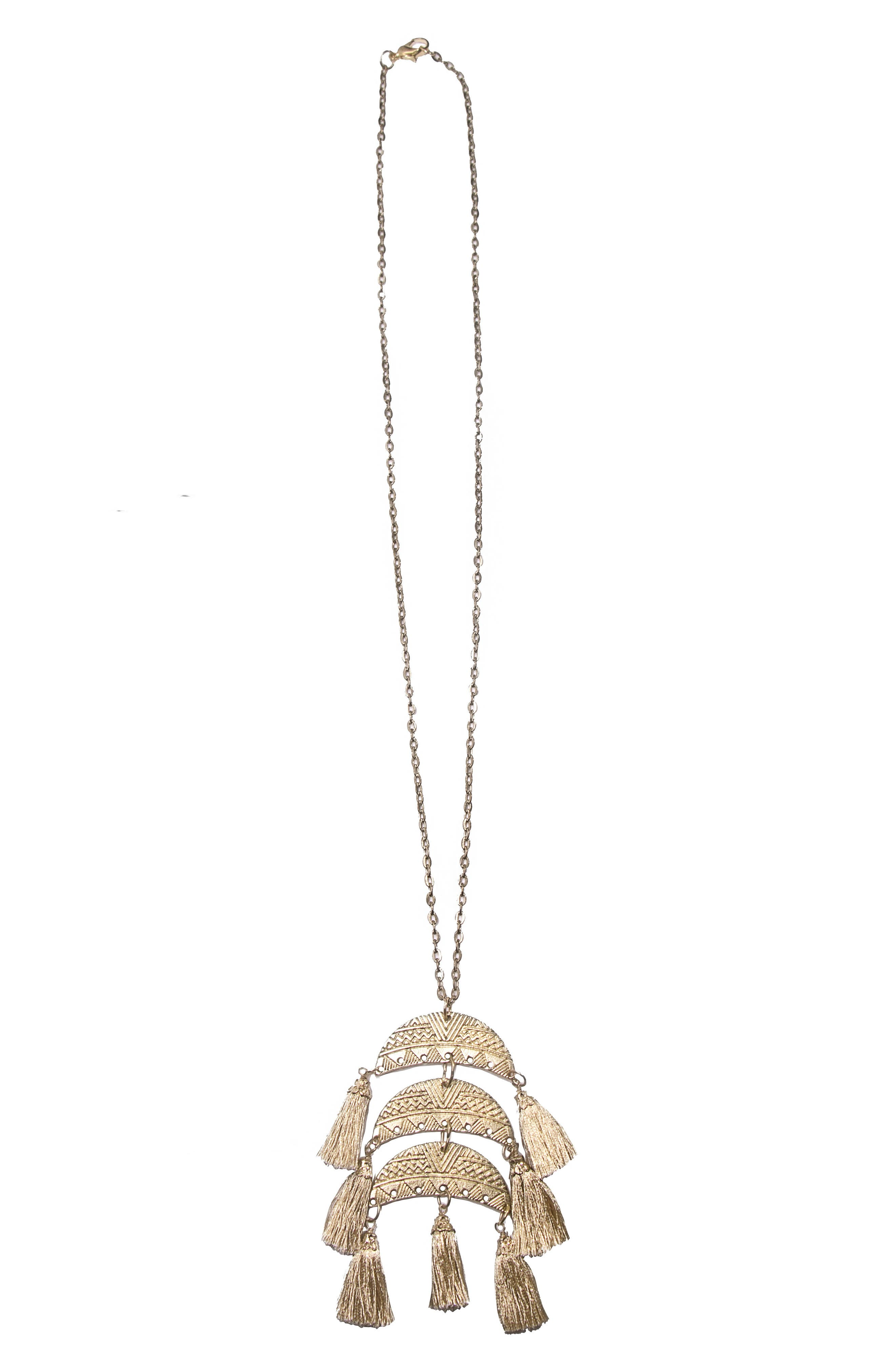 Alternate Image 1 Selected - Area Stars Goa Pendant Necklace