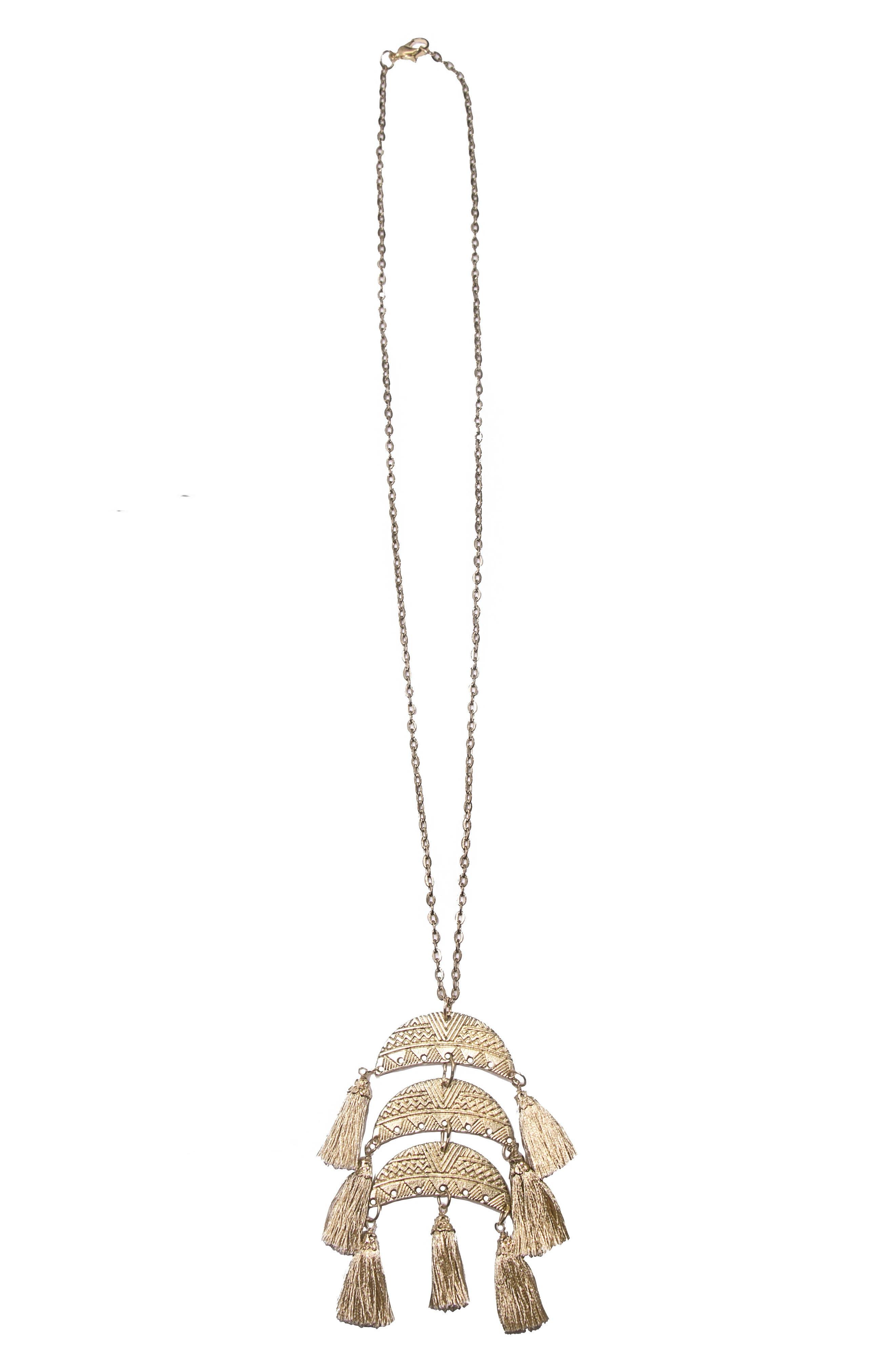 Main Image - Area Stars Goa Pendant Necklace