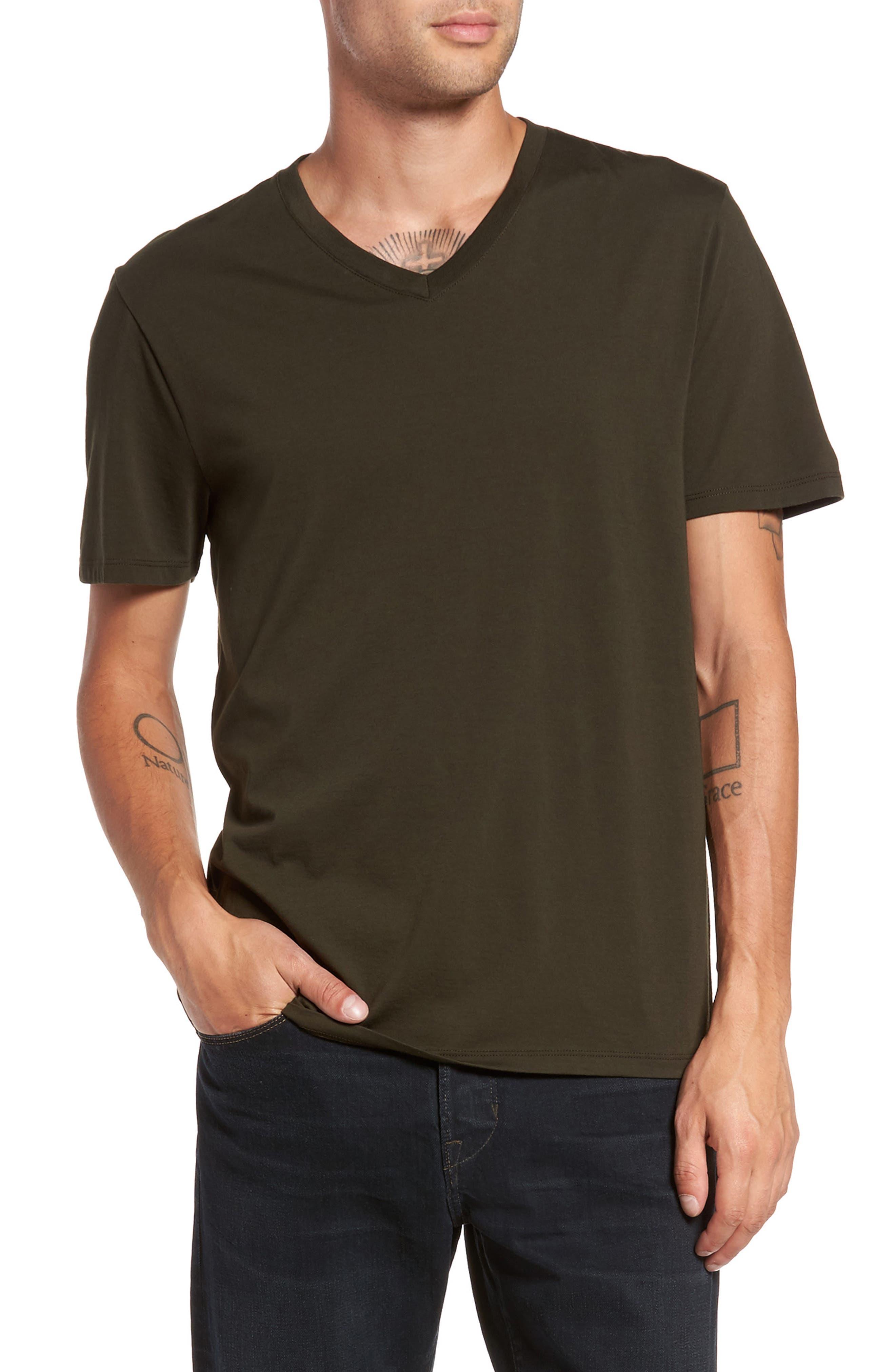 Vince Regular Fit V-Neck T-Shirt