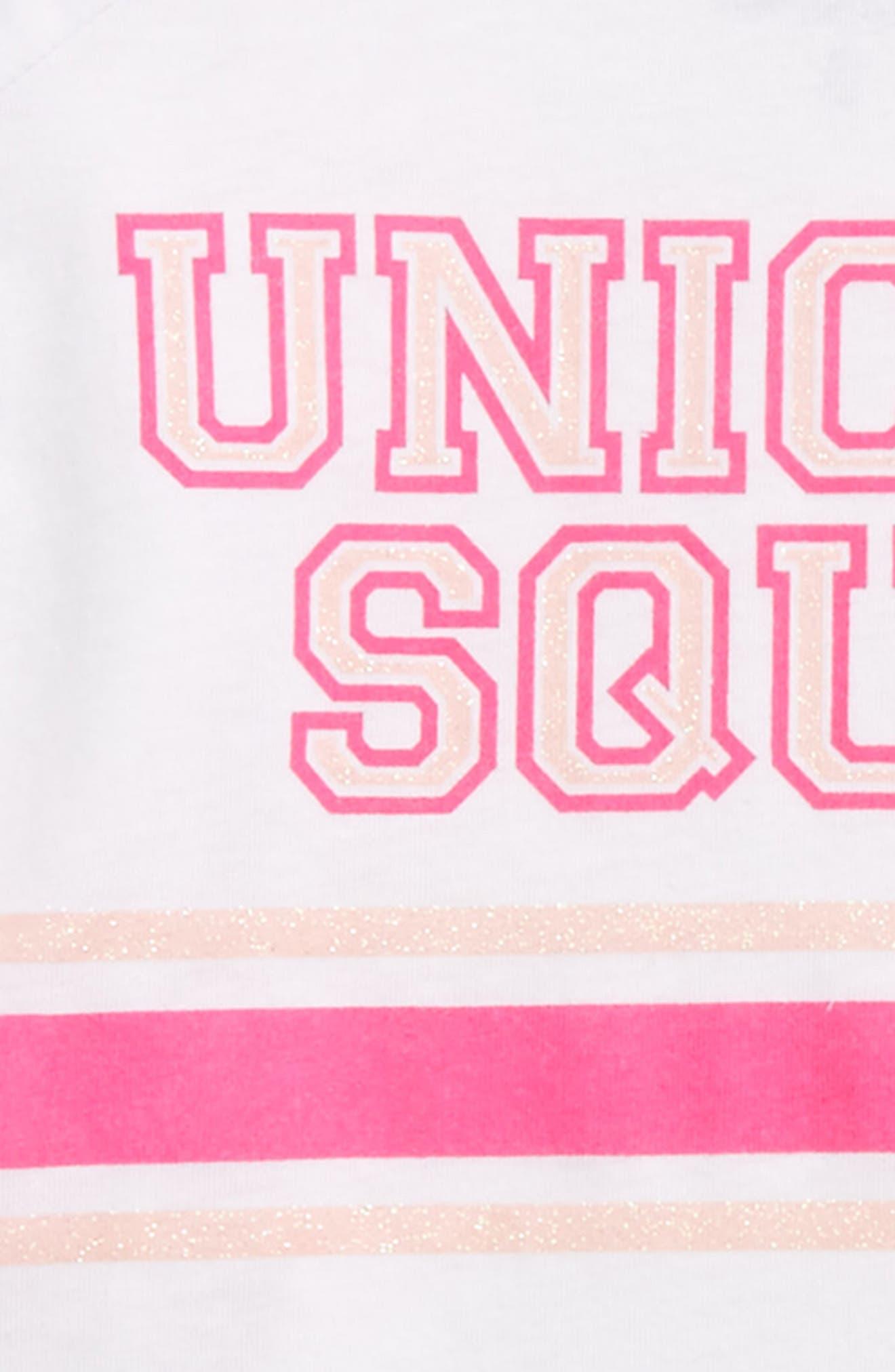 Alternate Image 2  - Chaser Unicorn Squad Graphic Tee (Toddler Girls & Little Girls)